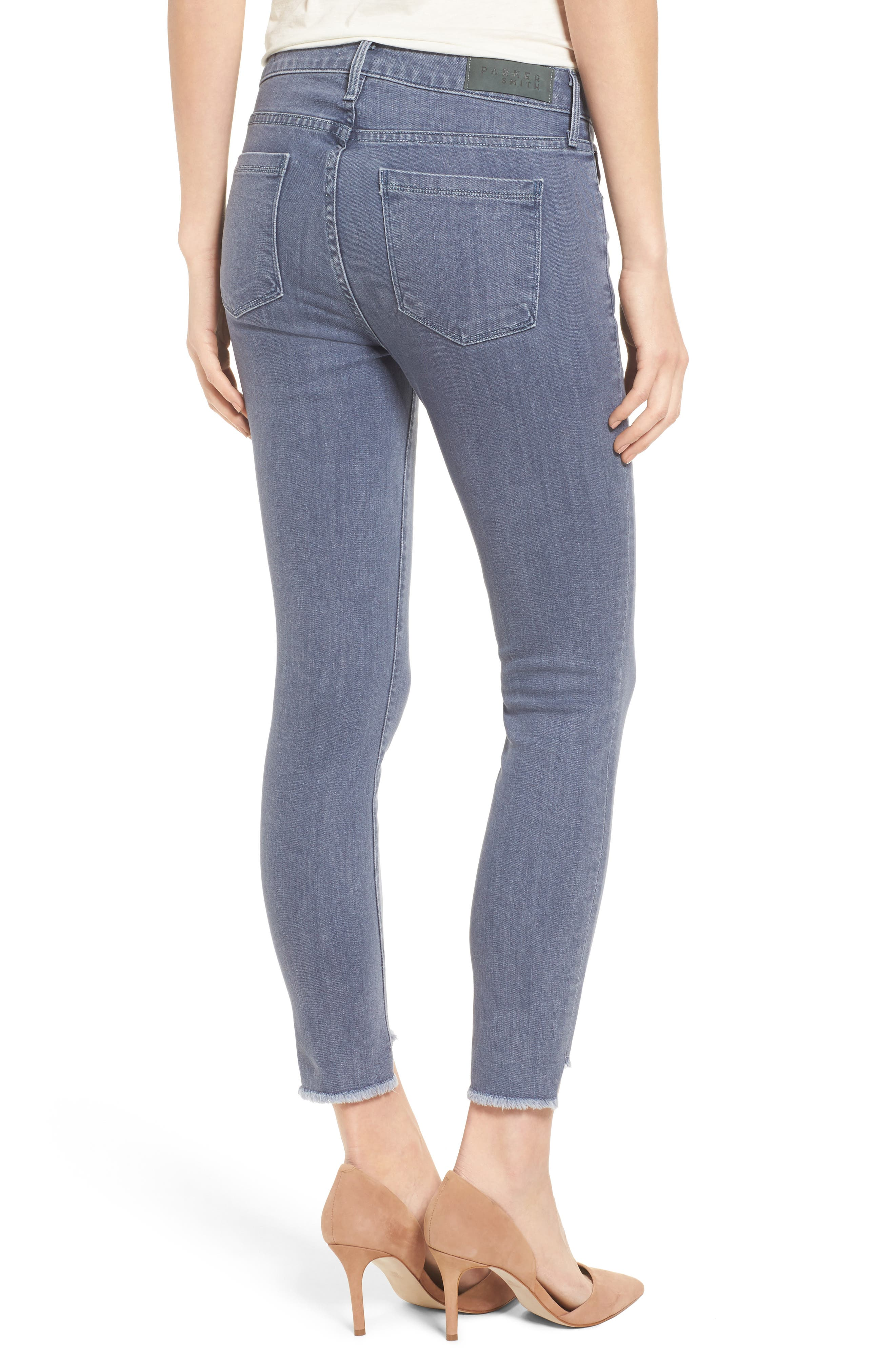 Twisted Seam Skinny Jeans,                             Alternate thumbnail 2, color,                             031