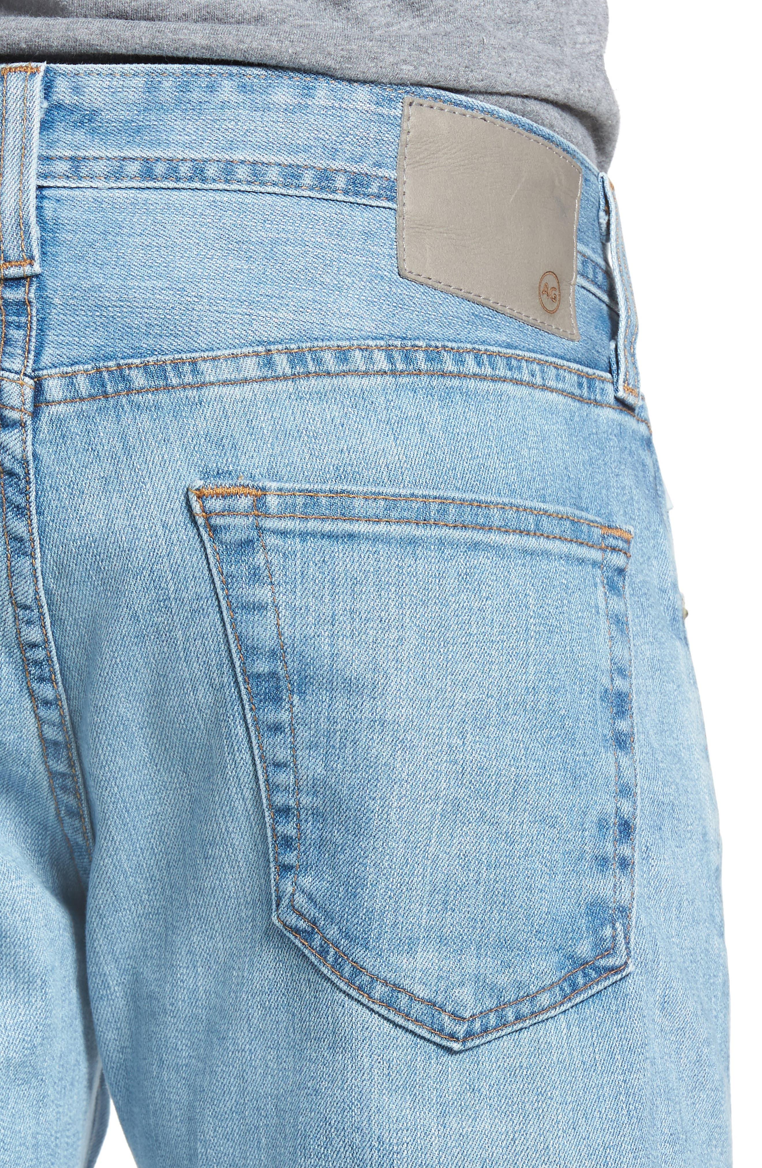 Tellis Slim Fit Jeans,                             Alternate thumbnail 4, color,                             412
