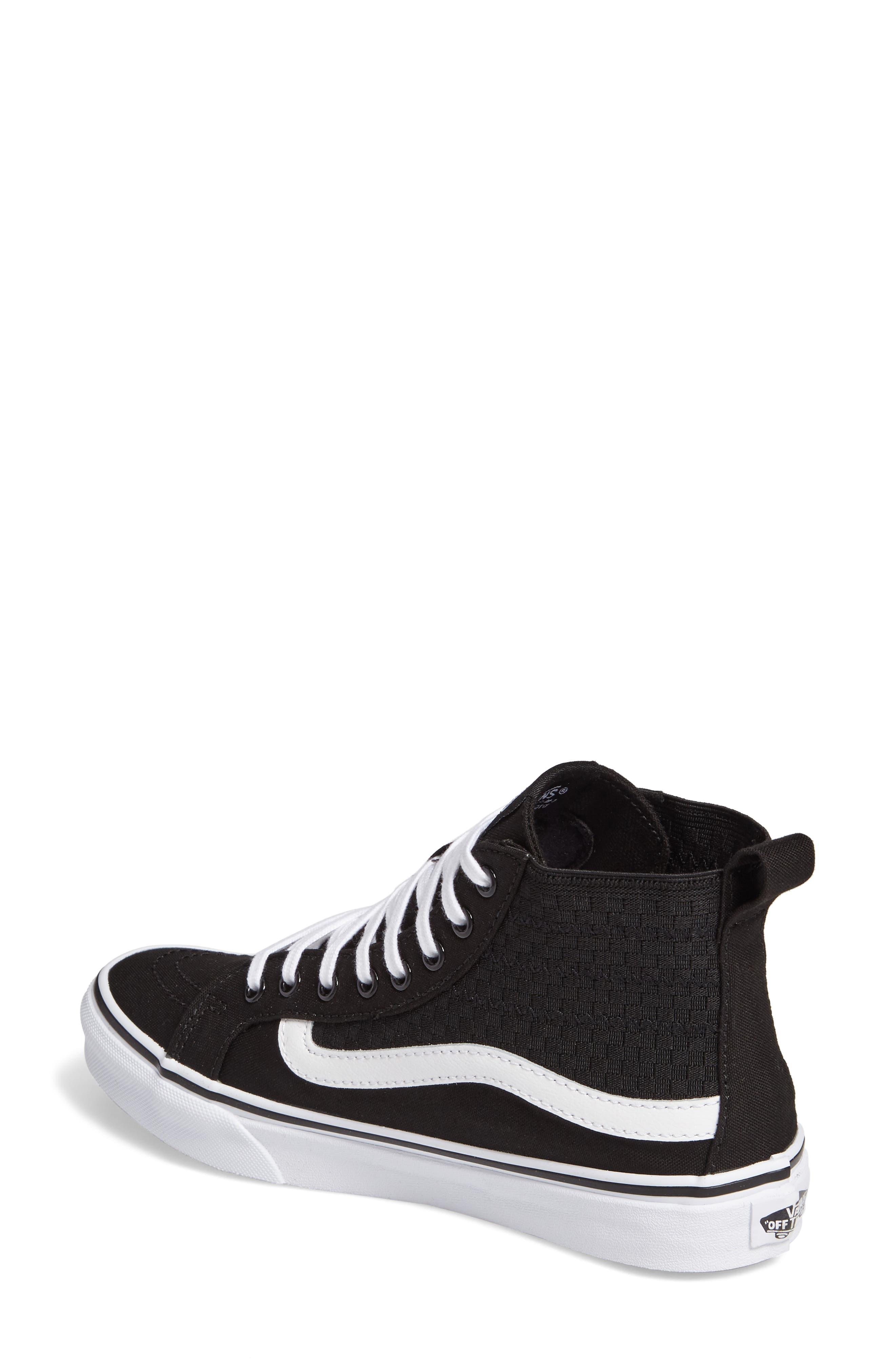 SK8-HI Slim Gore Sneaker,                             Alternate thumbnail 2, color,                             001