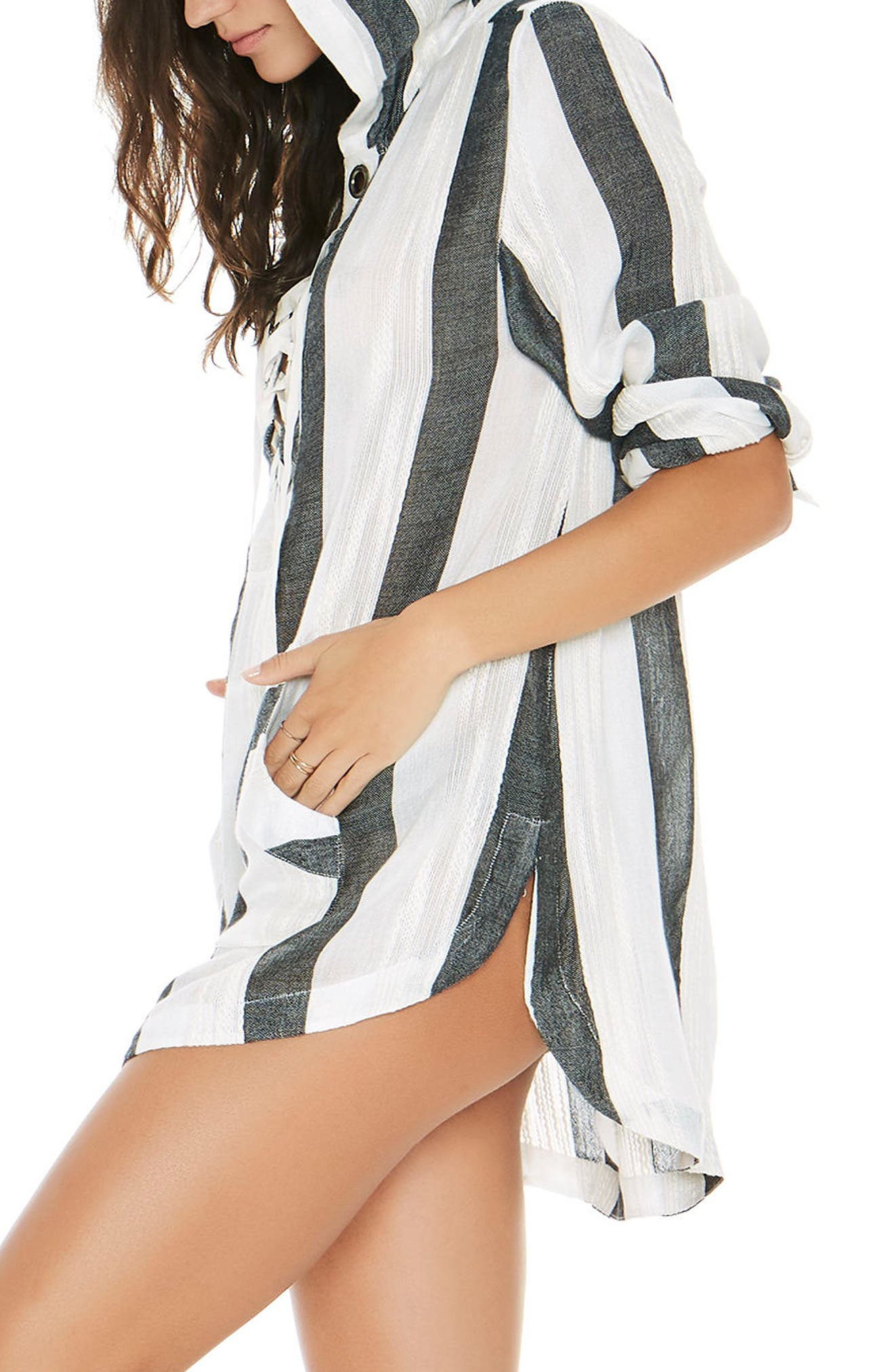 Love Letters Cover-Up Tunic,                             Alternate thumbnail 3, color,                             025
