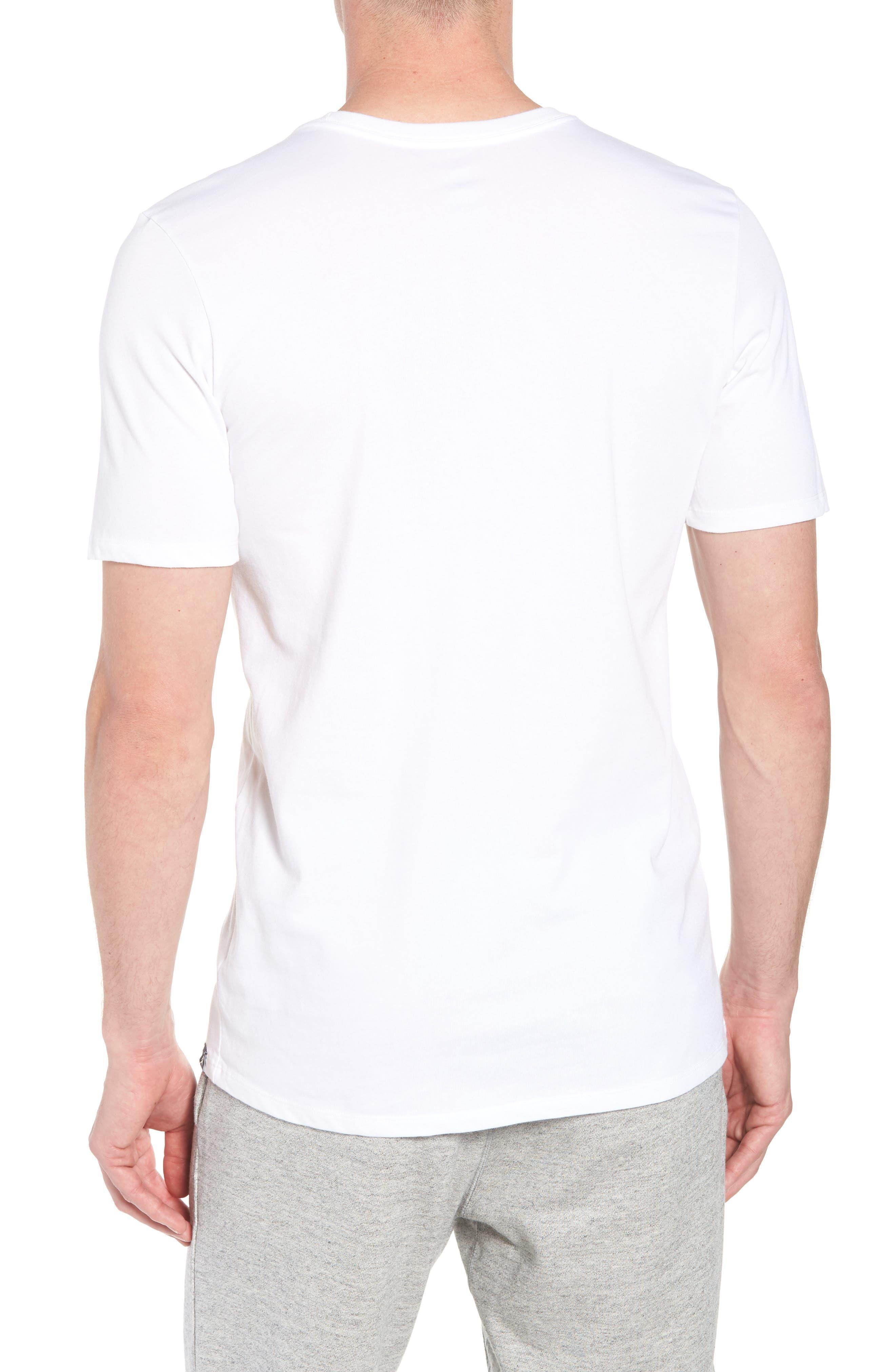 Iconic Jumpman Graphic T-Shirt,                             Alternate thumbnail 4, color,