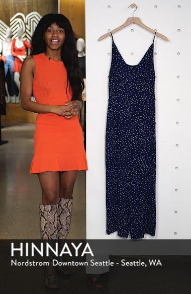 Gabrielle Wide Leg Crop Jumpsuit, sales video thumbnail