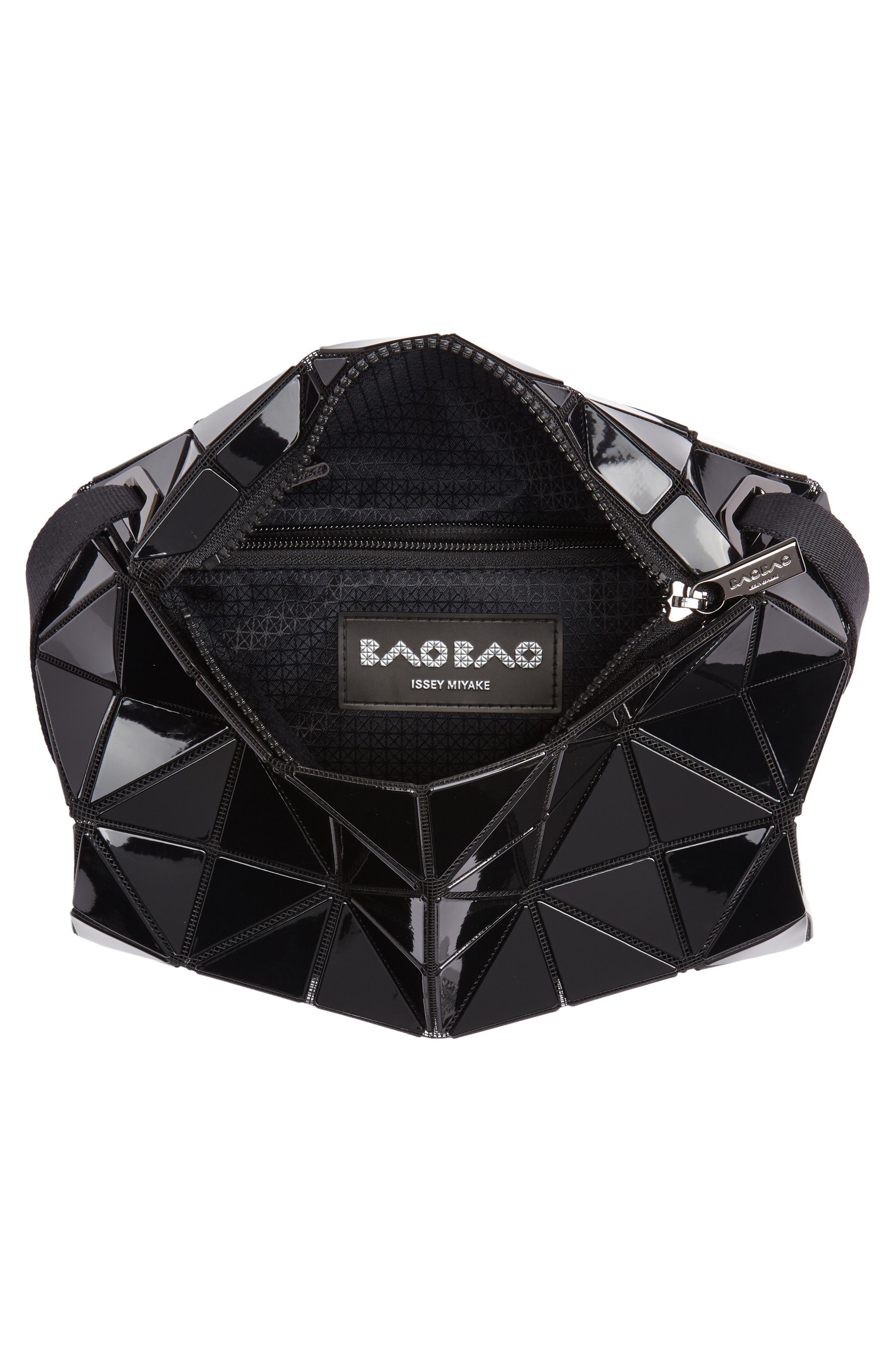 Carton Crossbody Bag,                             Alternate thumbnail 4, color,                             BLACK