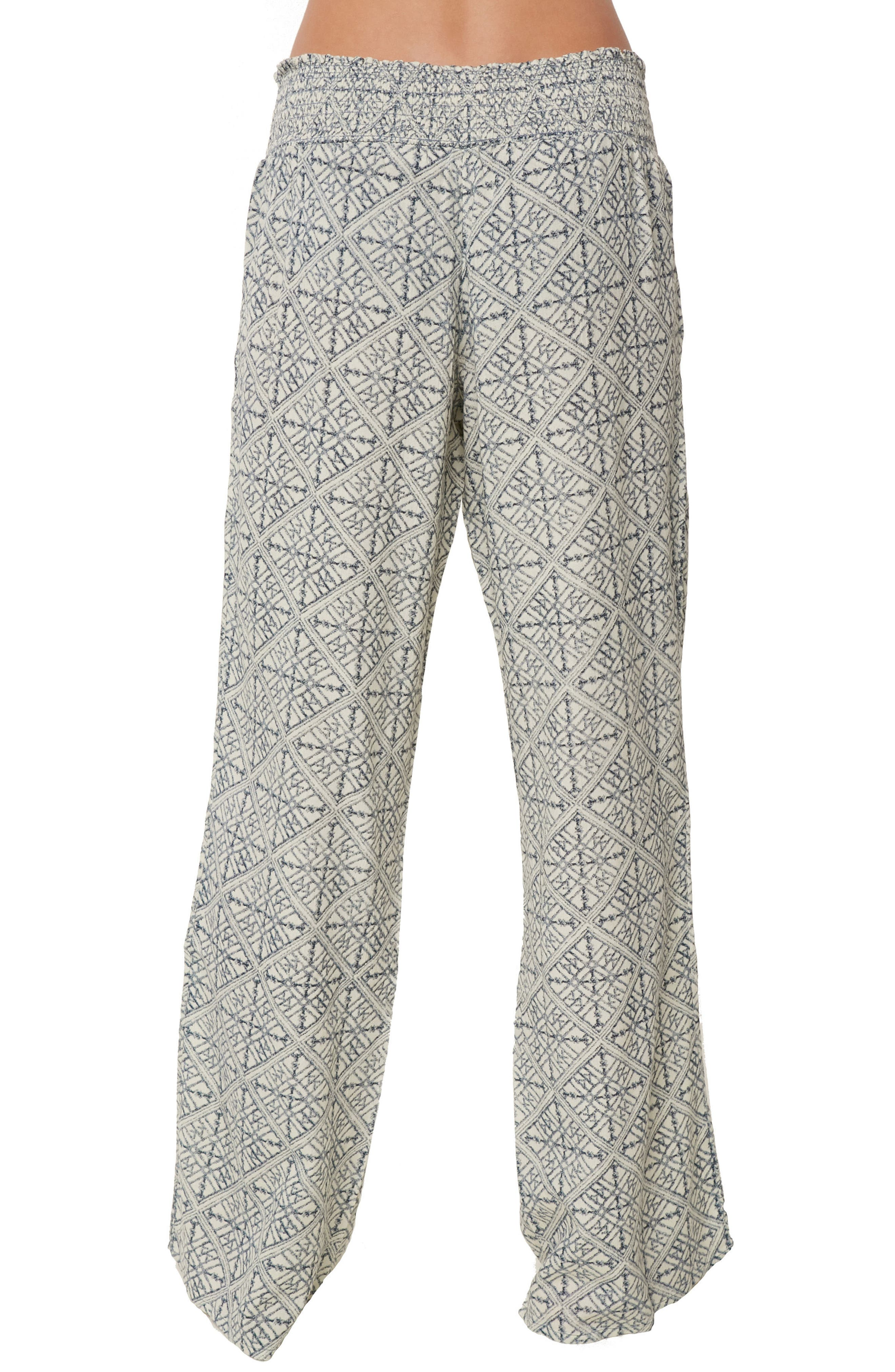Joanna Geo Print Pants,                             Alternate thumbnail 4, color,                             EVENTIDE