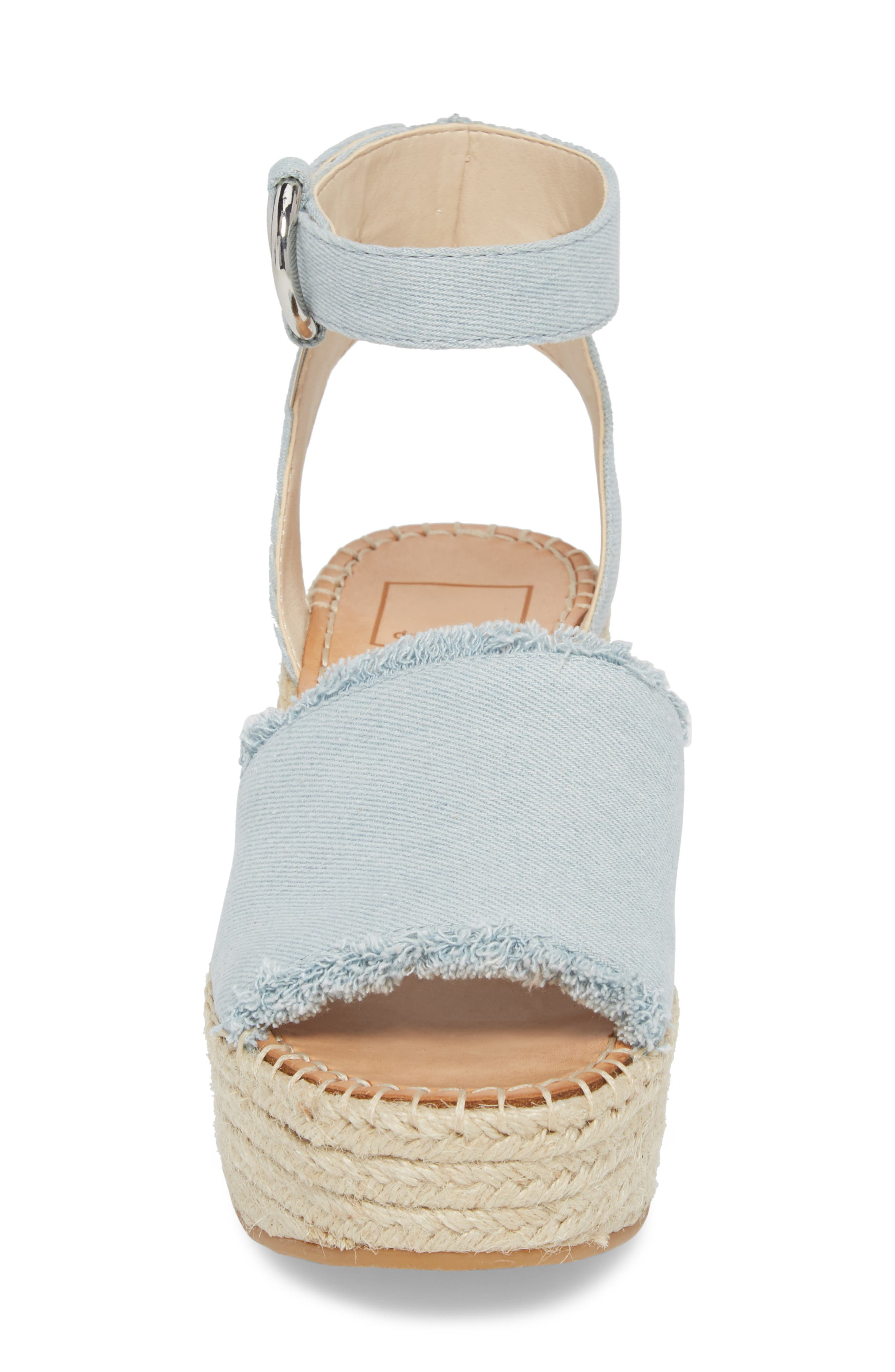 Lesly Espadrille Platform Sandal,                             Alternate thumbnail 25, color,