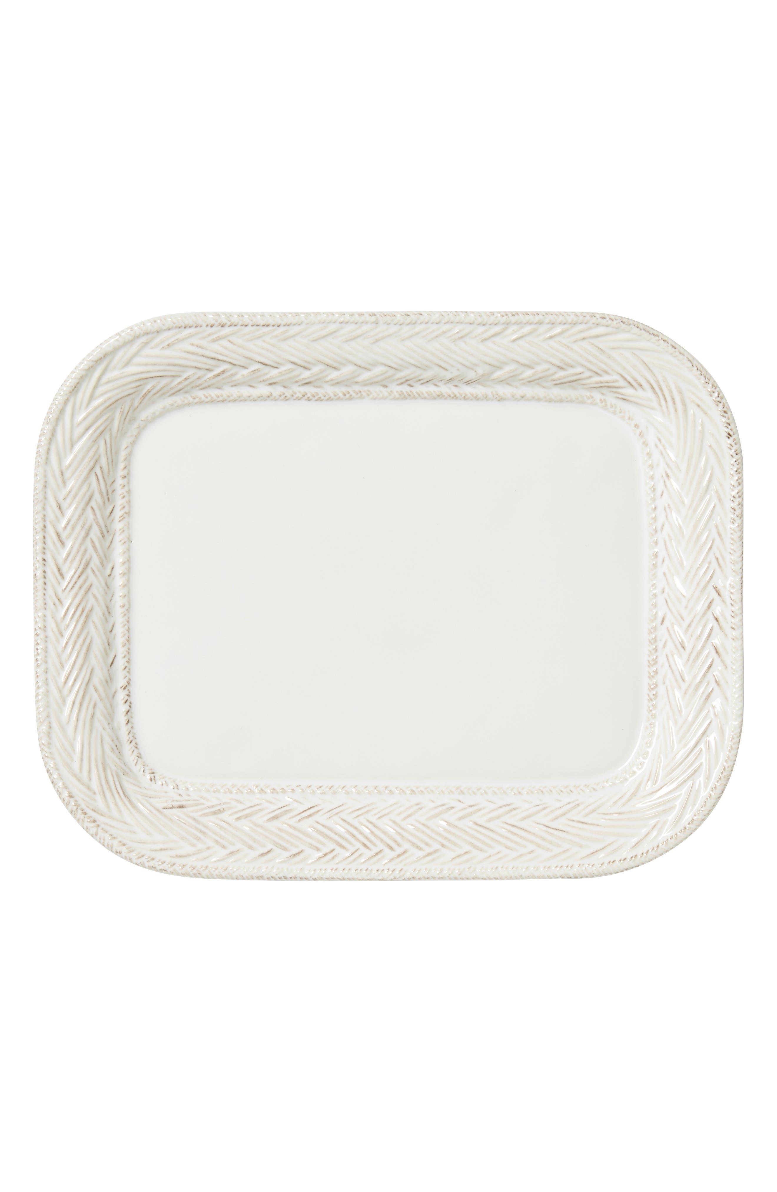 Le Panier Medium Serving Platter,                             Main thumbnail 1, color,                             WHITE