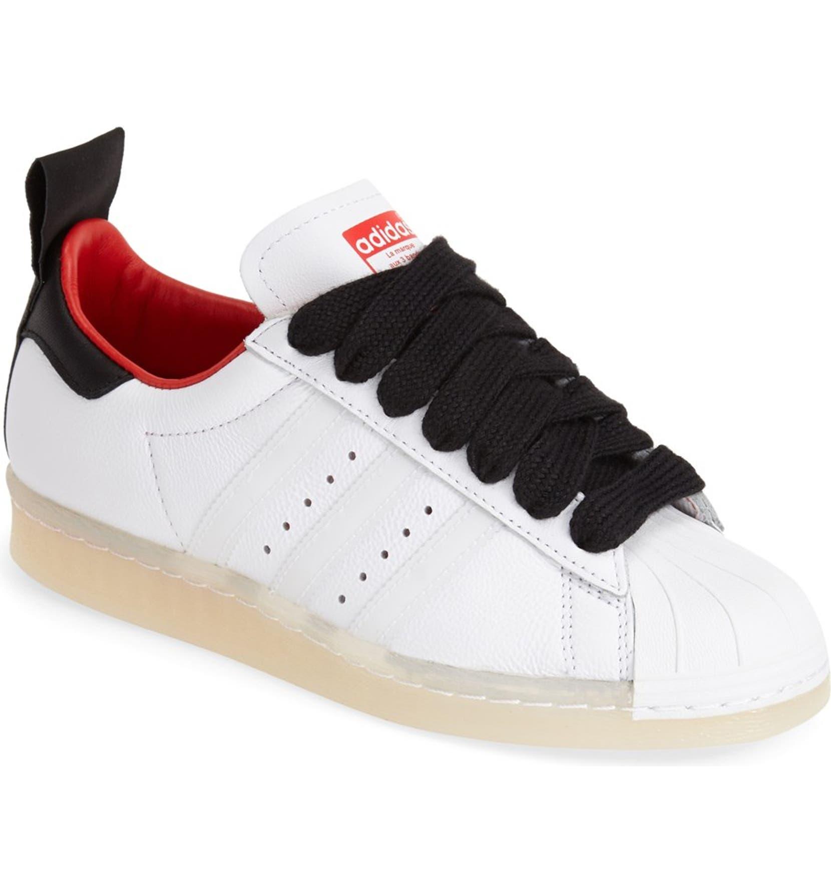 4e8356b4e69 Topshop for adidas Originals  Superstar 80s  Leather Sneaker (Women ...