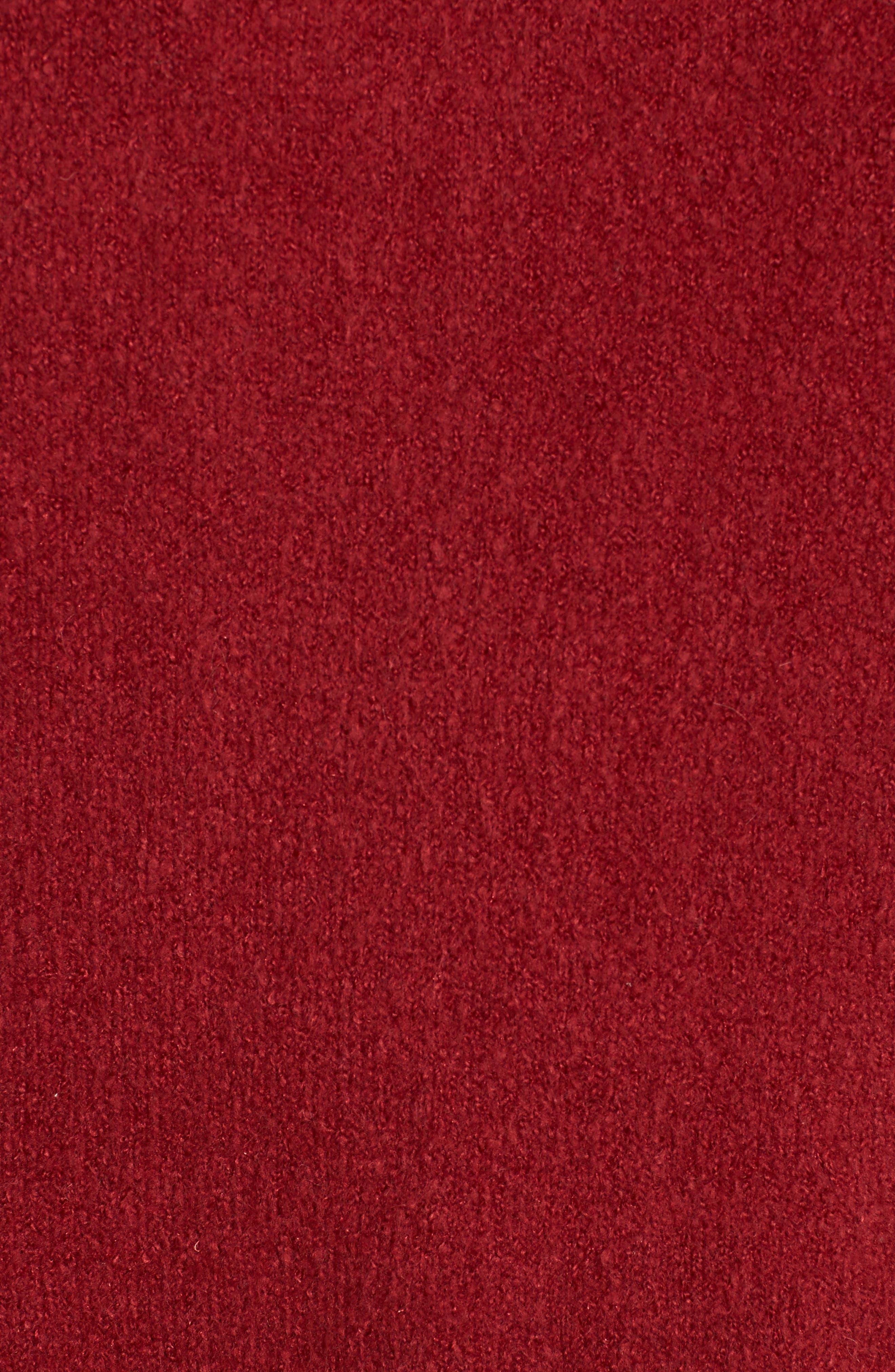 Orla Sweater,                             Alternate thumbnail 5, color,                             DEEP FRAMBOISE