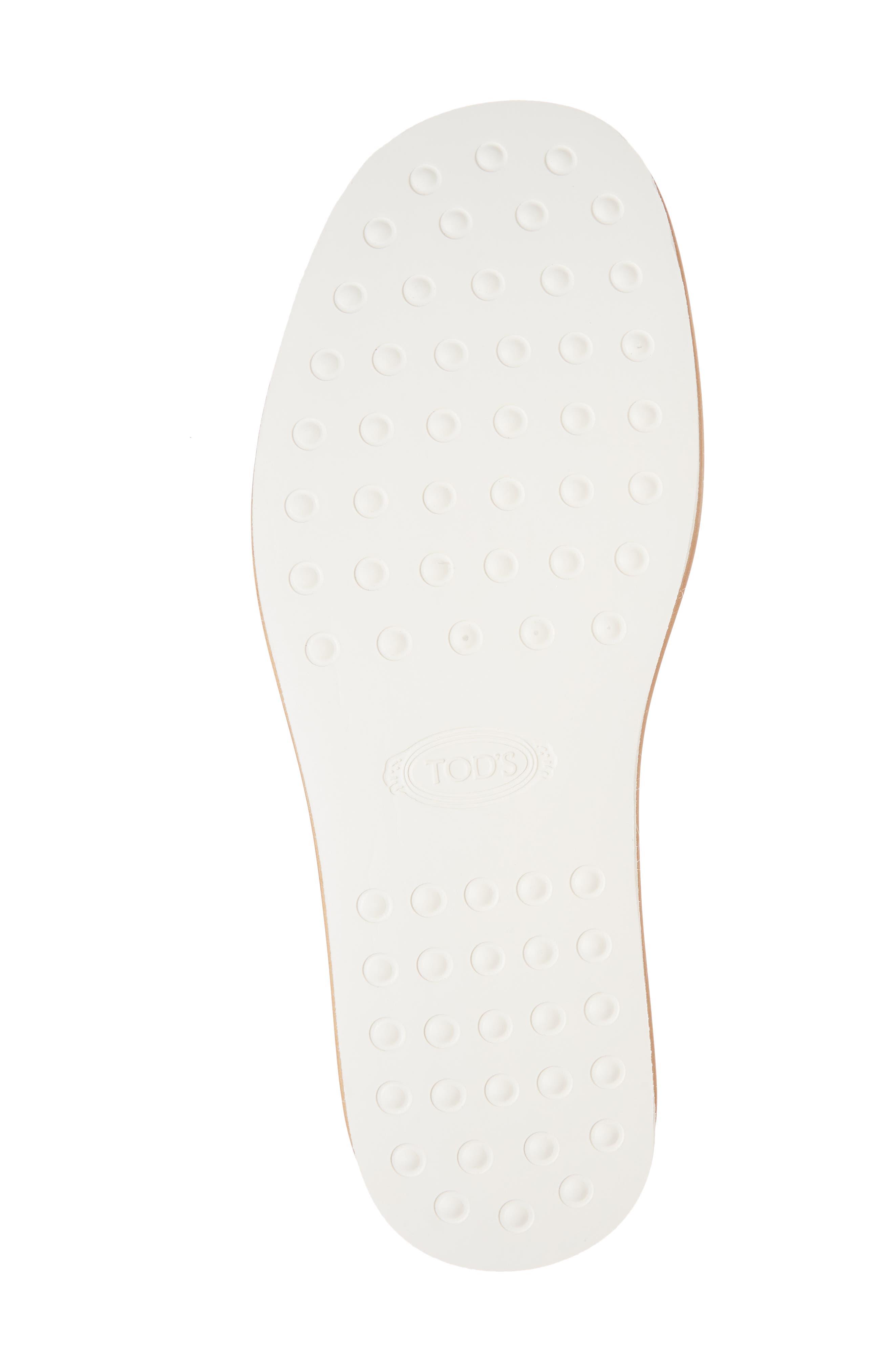 Studded Fringe Slide Sandal,                             Alternate thumbnail 18, color,