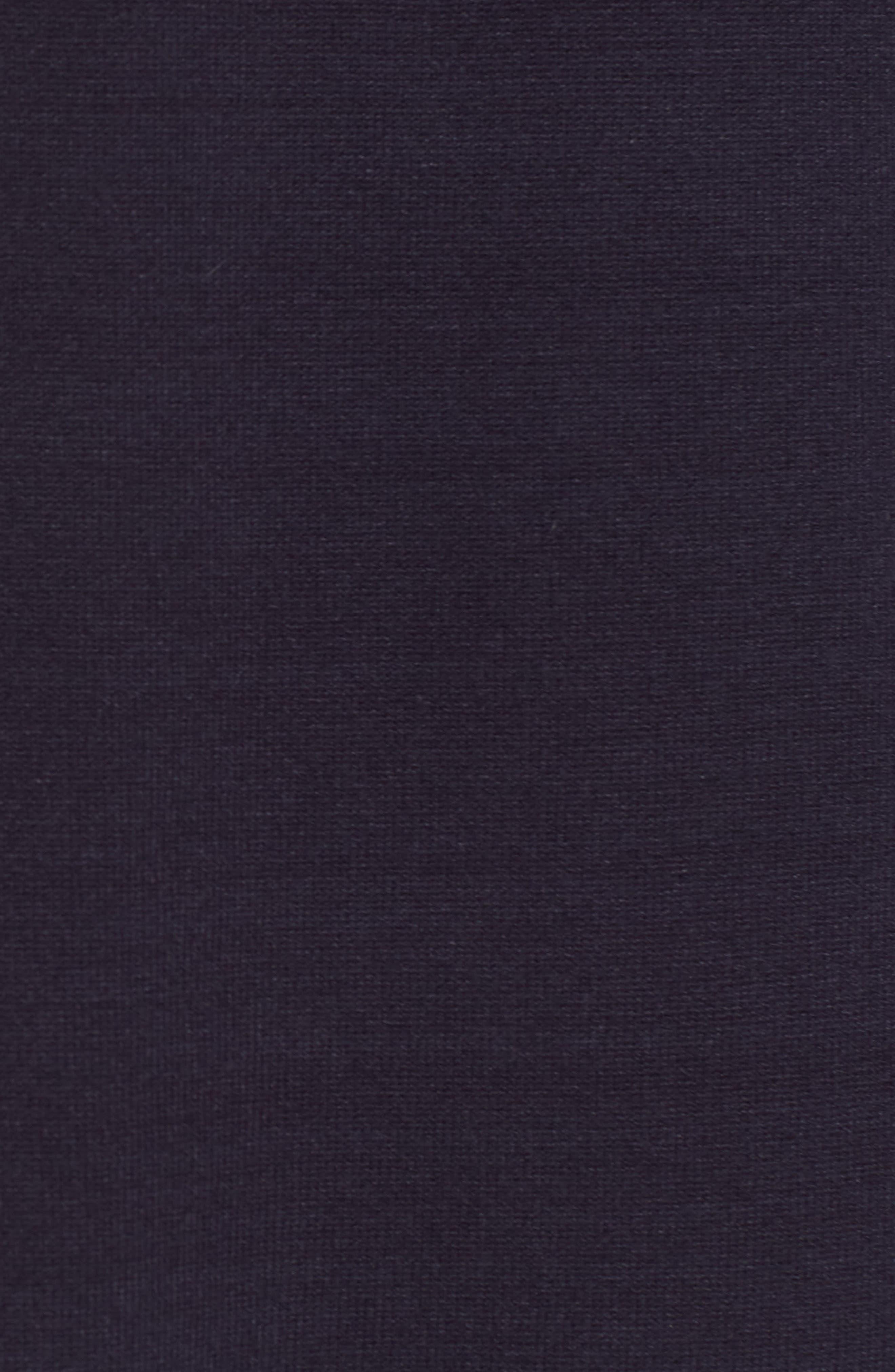 1901,                             Varsity Stripe Sweater Dress,                             Alternate thumbnail 6, color,                             NAVY
