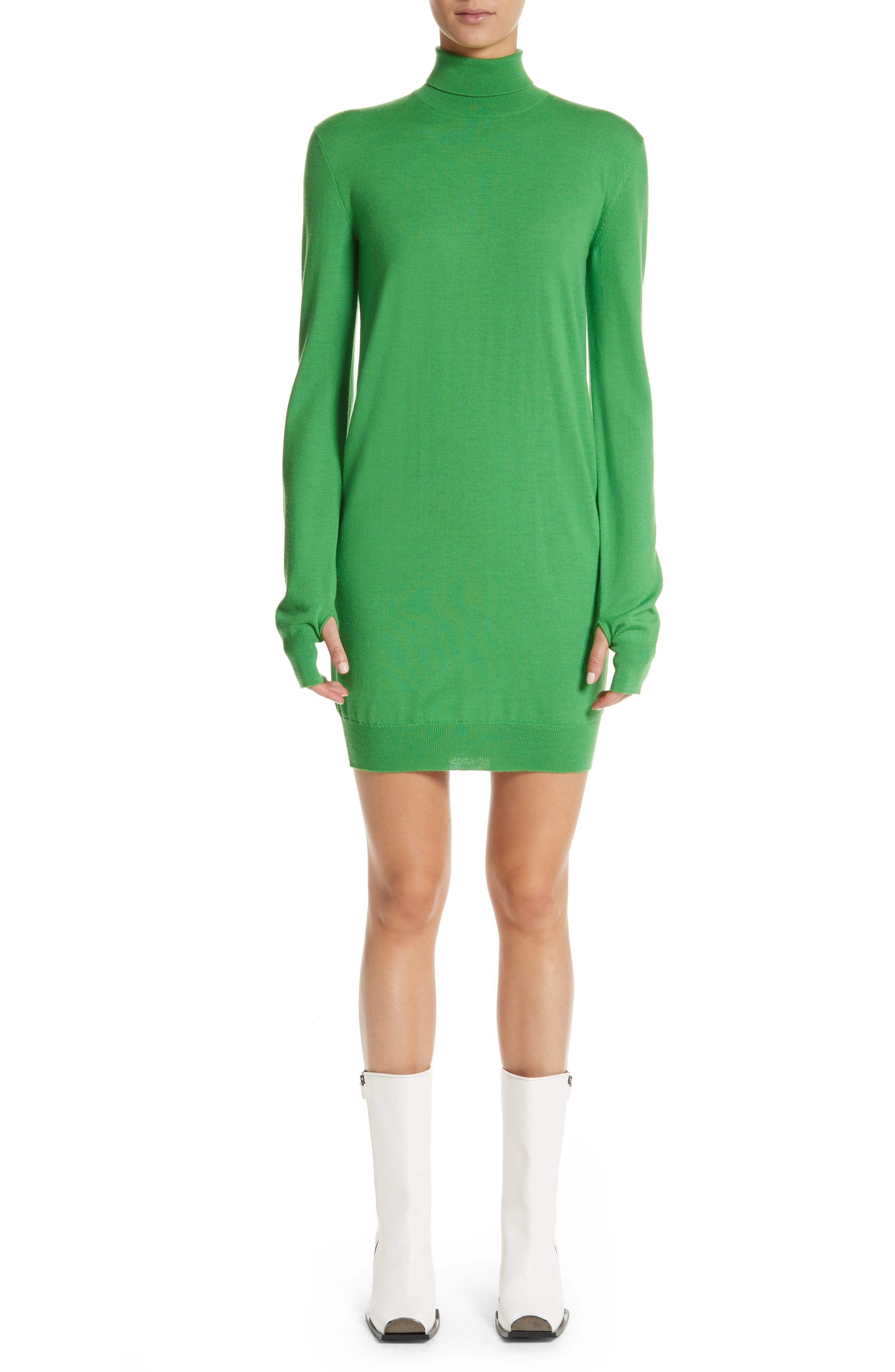 Wool Sweater Dress,                             Main thumbnail 1, color,                             300