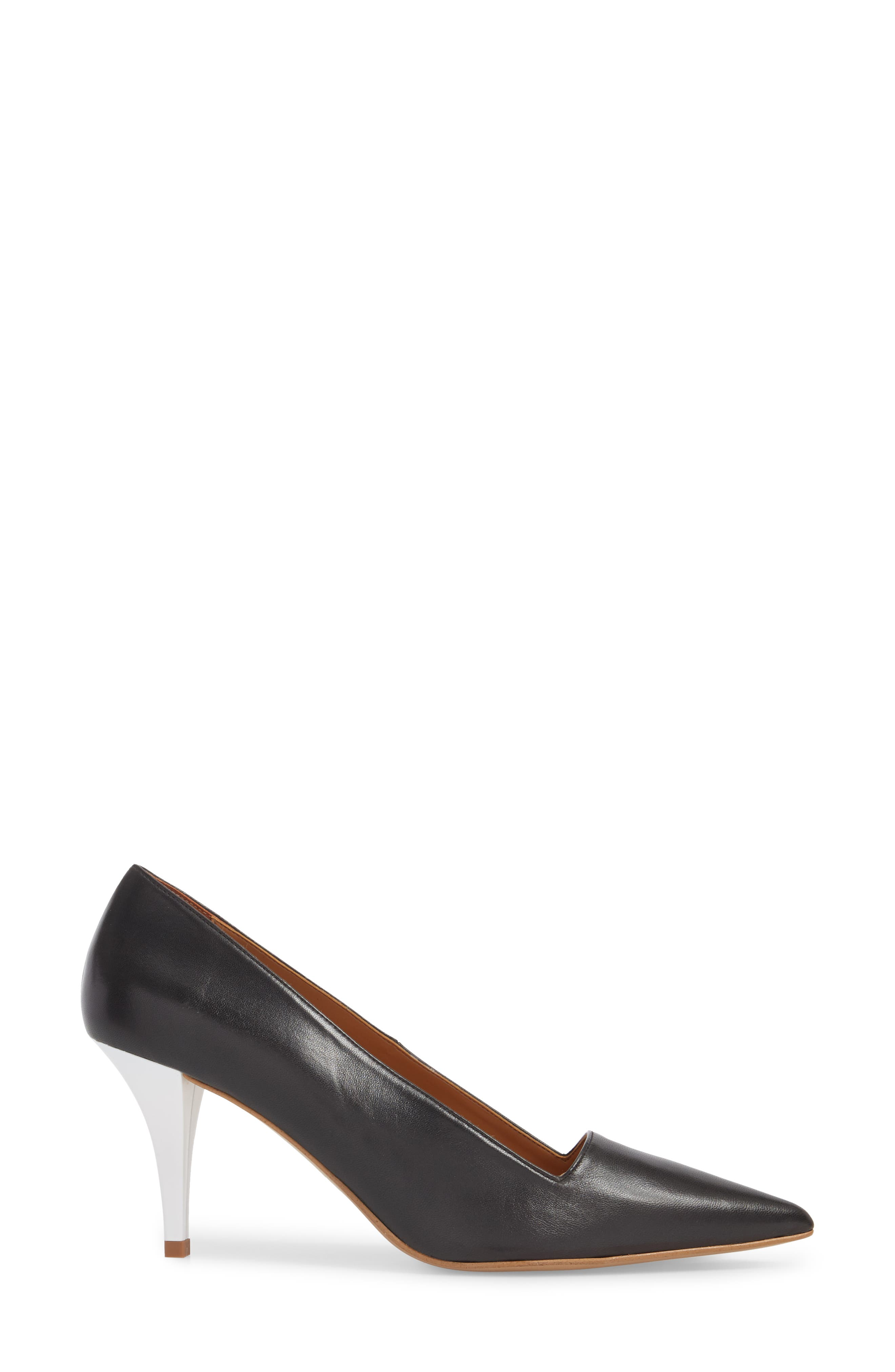 Jubilee Pointy Toe Pump,                             Alternate thumbnail 3, color,                             BLACK MULTI
