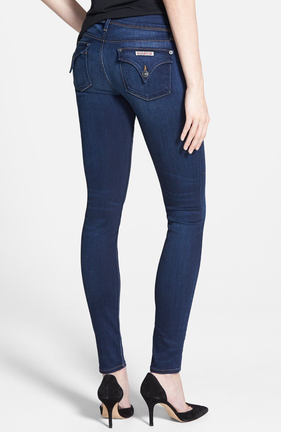 'Collin' Supermodel Skinny Jeans,                             Alternate thumbnail 3, color,                             REVELATION