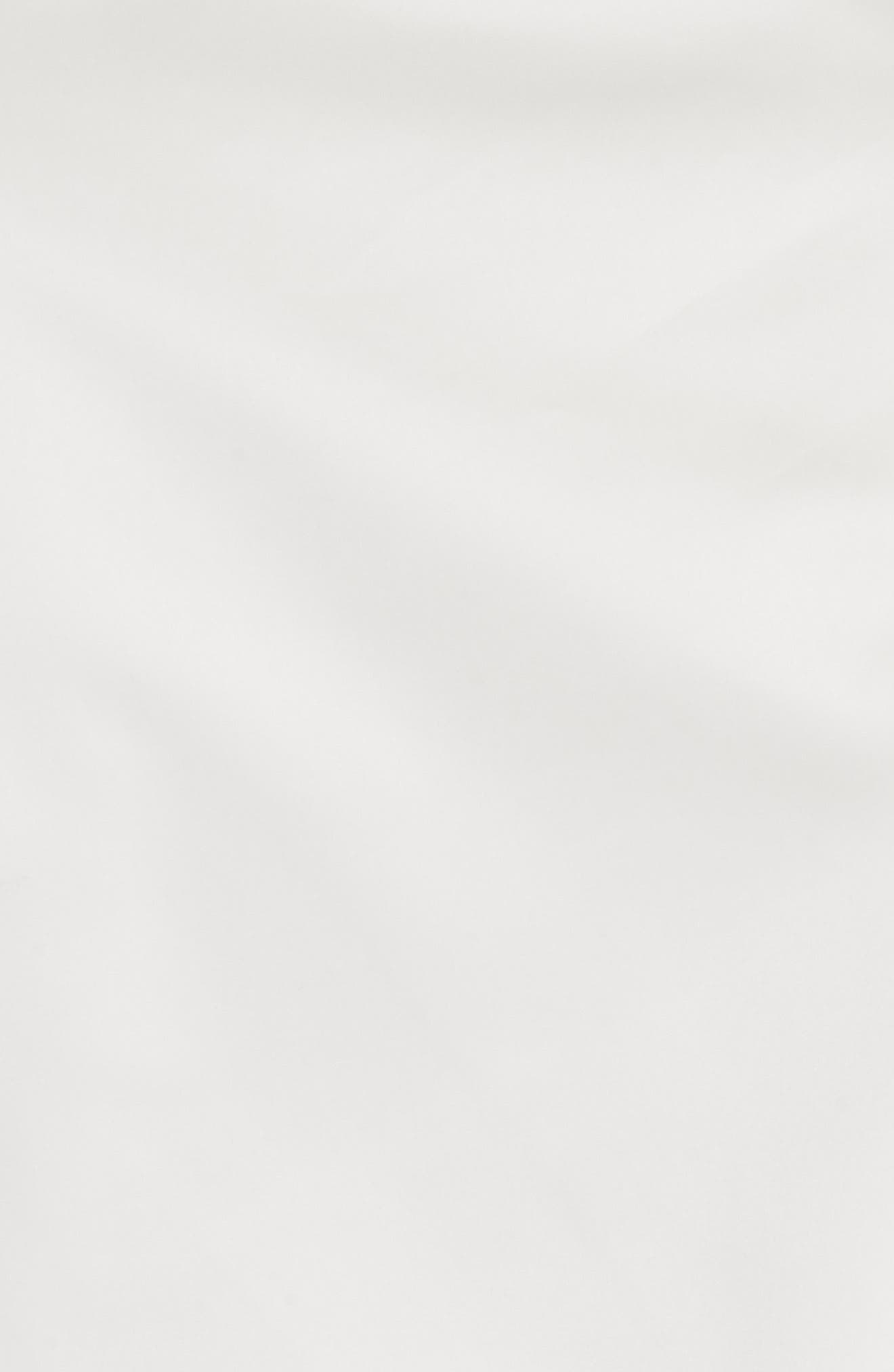 MILLY,                             Italian Duchess Taffeta Wrap Top Bodysuit,                             Alternate thumbnail 5, color,                             150