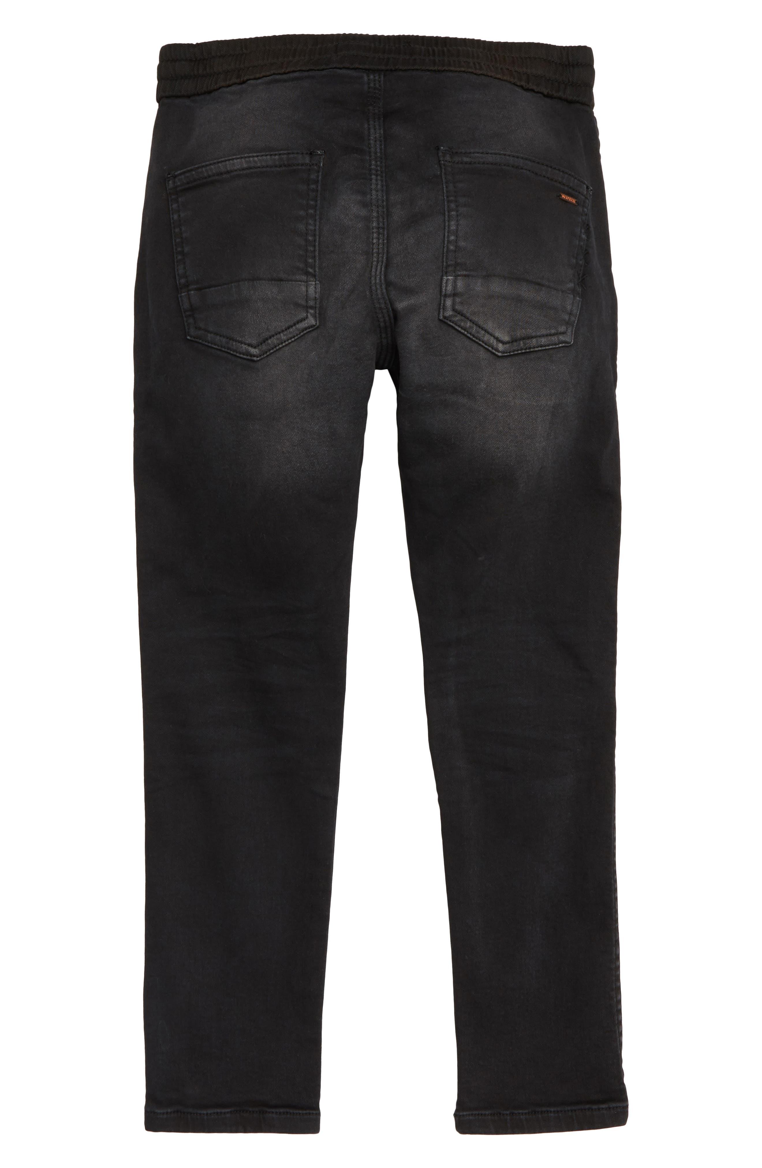 Slim Pull-On Pants,                             Alternate thumbnail 2, color,                             001