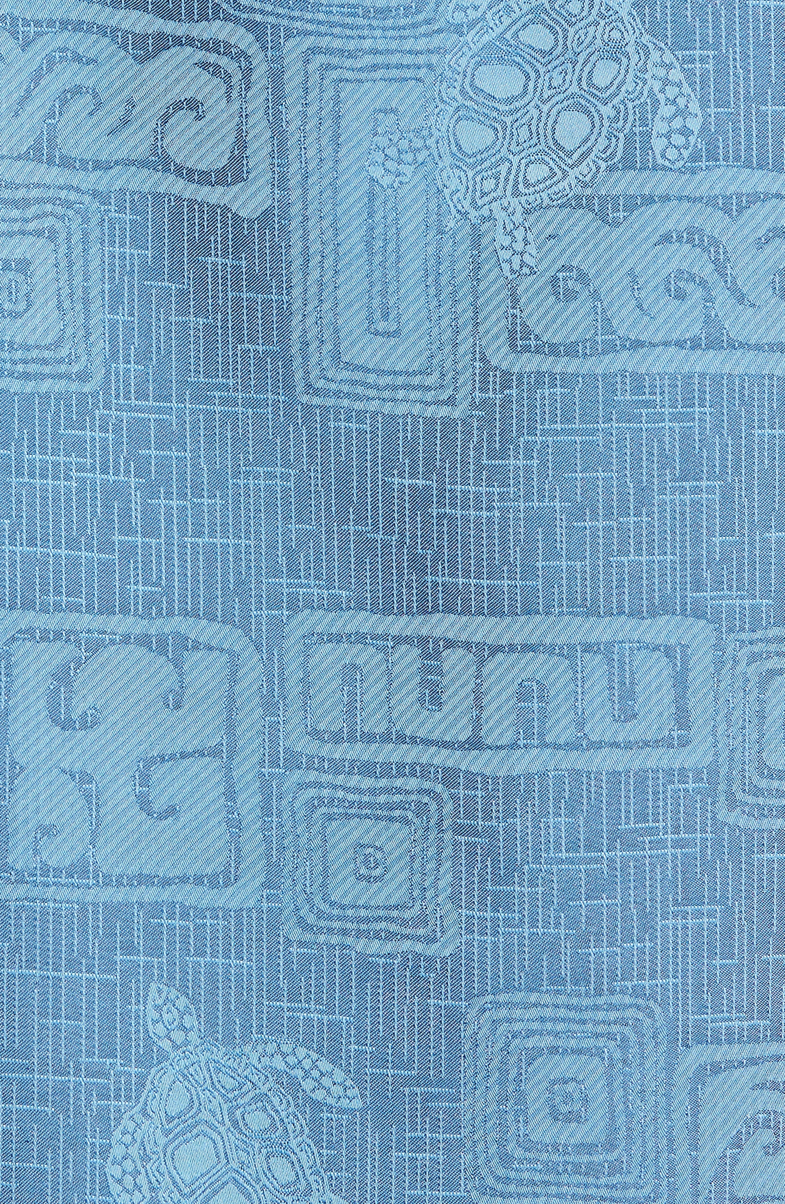 Sea Shells Classic Fit Sport Shirt,                             Alternate thumbnail 15, color,