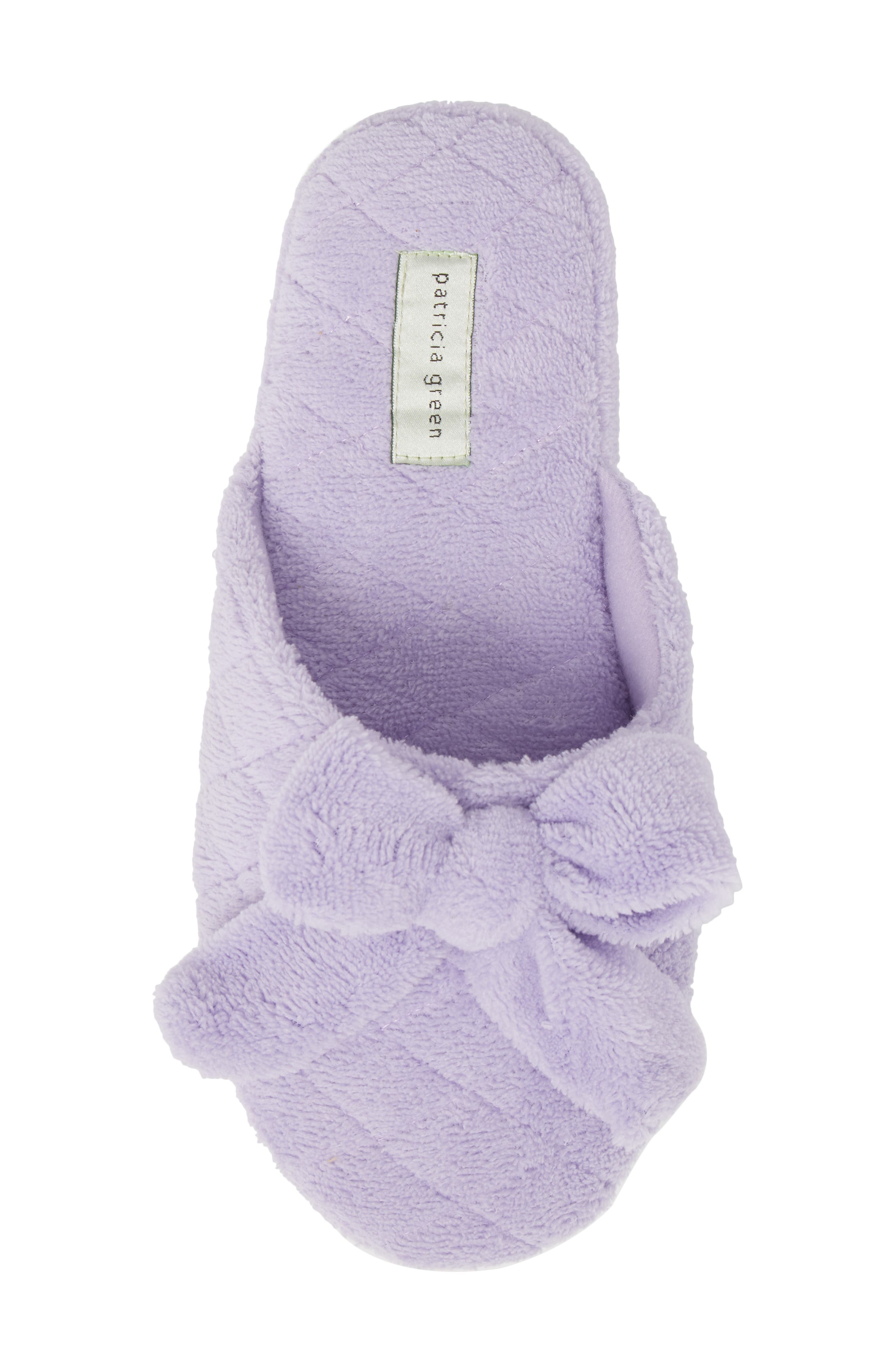 PATRICIA GREEN,                             'Bonnie' Bow Slipper,                             Alternate thumbnail 5, color,                             539