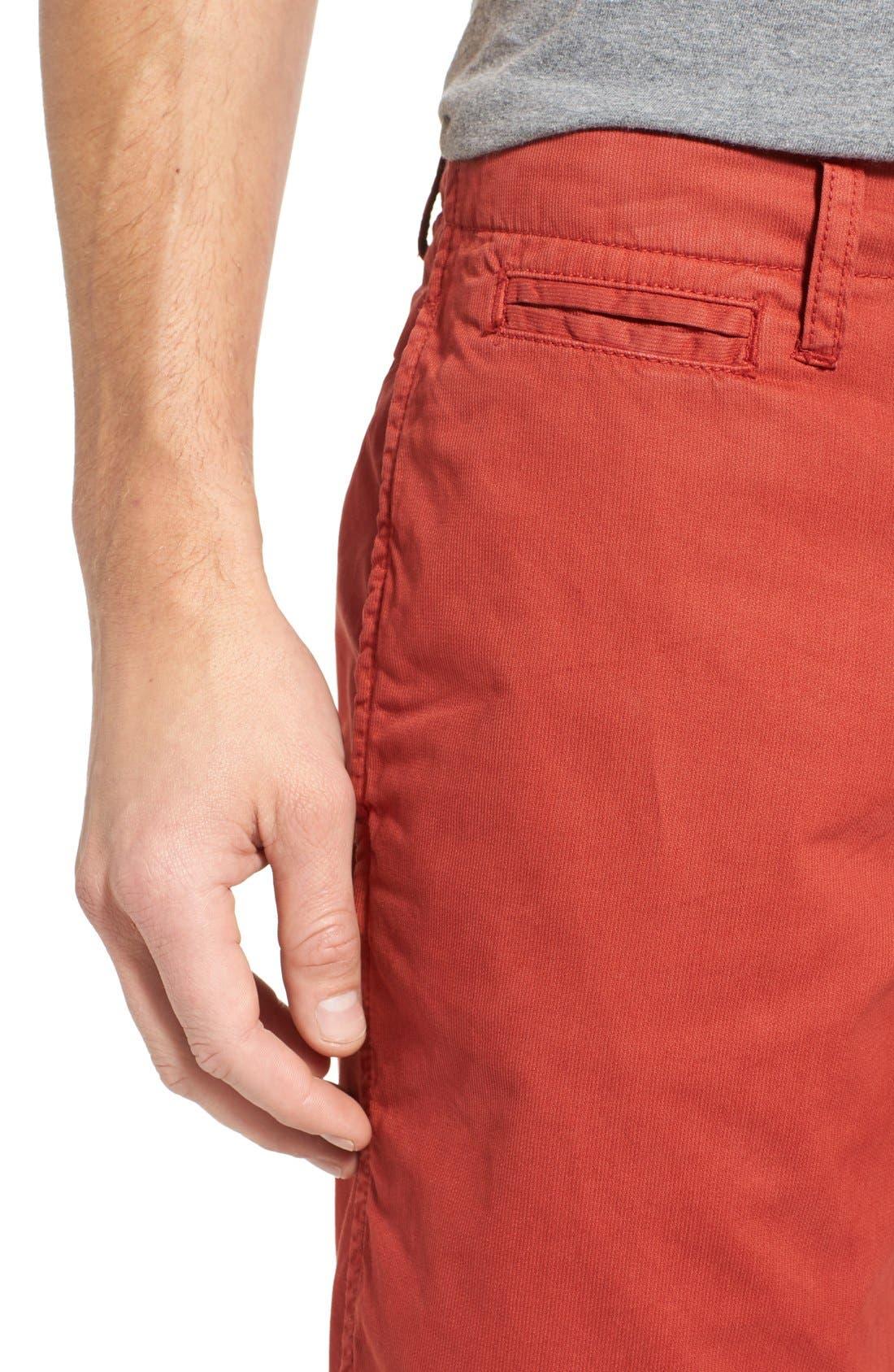 'St. Barts' Raw Edge Shorts,                             Alternate thumbnail 4, color,                             801