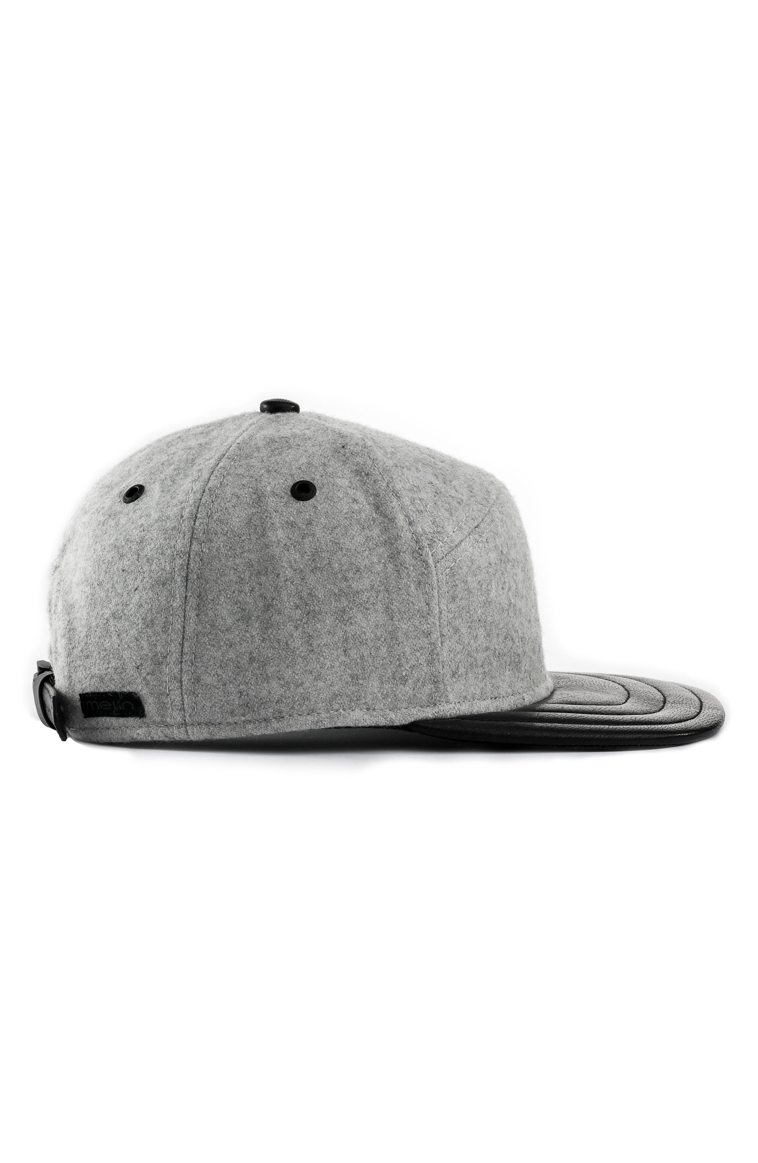 MELIN,                             Mini Bar Deluxe Baseball Cap,                             Alternate thumbnail 4, color,                             LIGHT HEATHER GREY