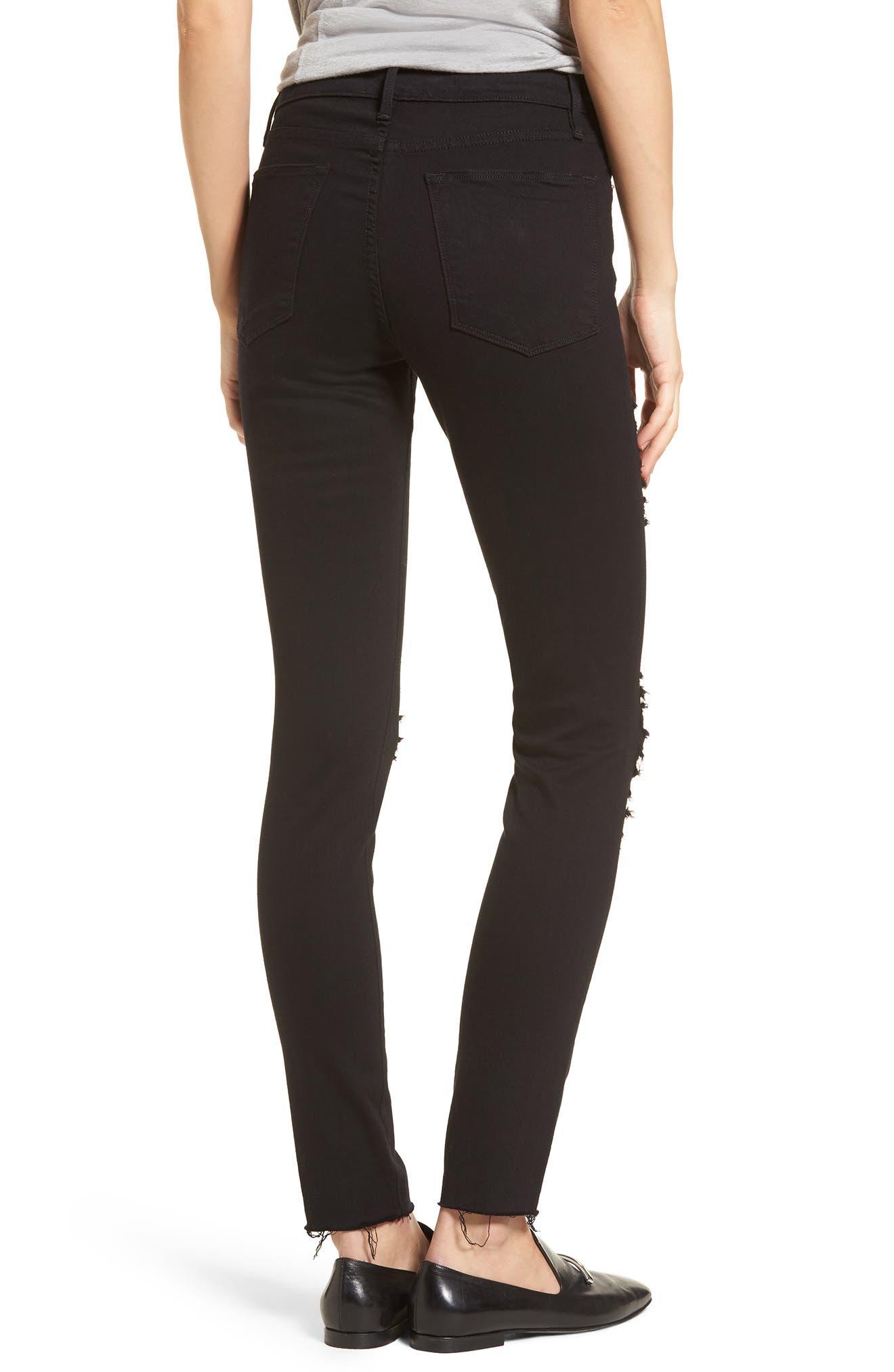 Le Color High Waist Skinny Jeans,                             Alternate thumbnail 2, color,                             003