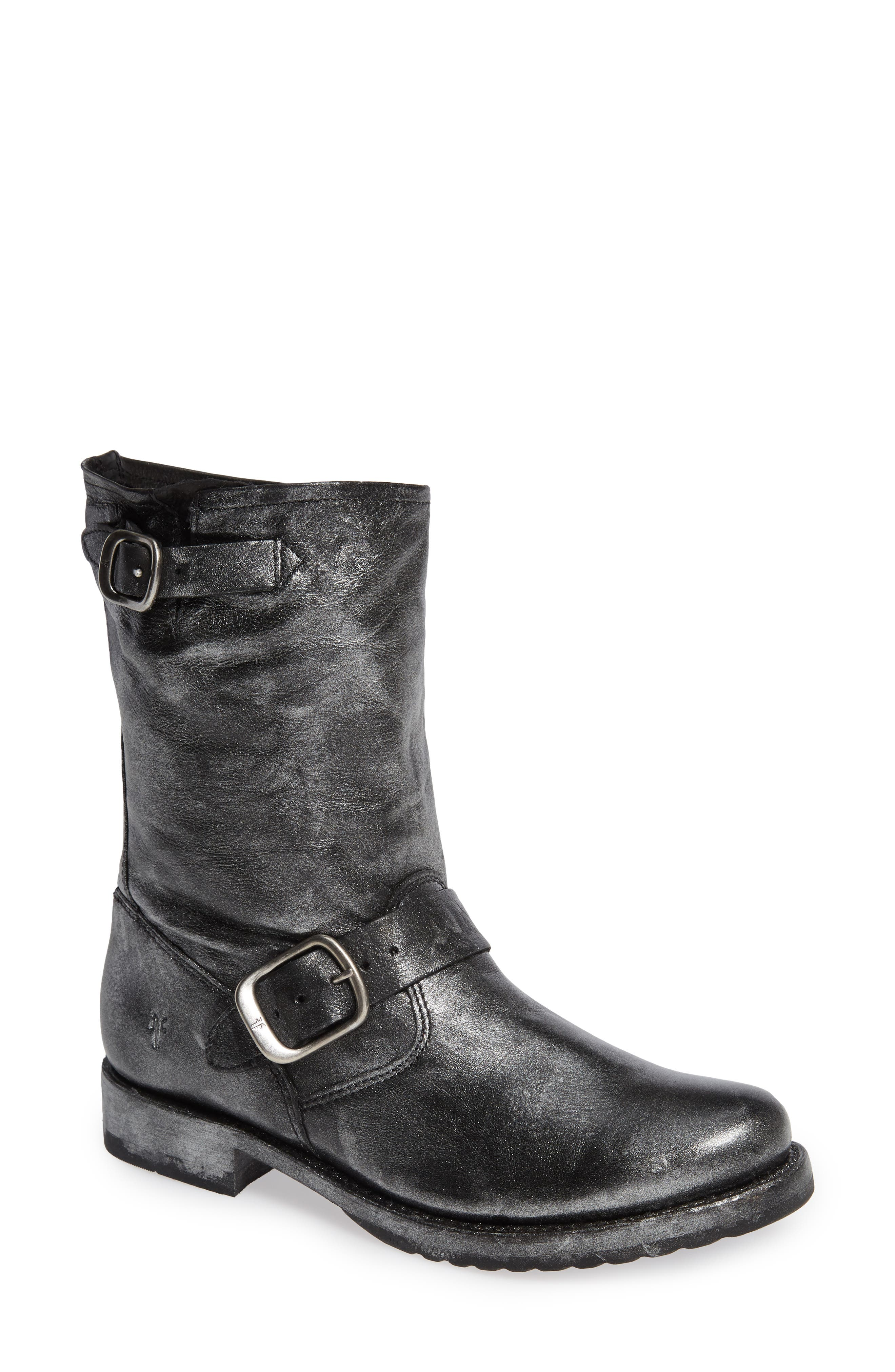 'Veronica Short' Slouchy Boot,                             Main thumbnail 1, color,                             002