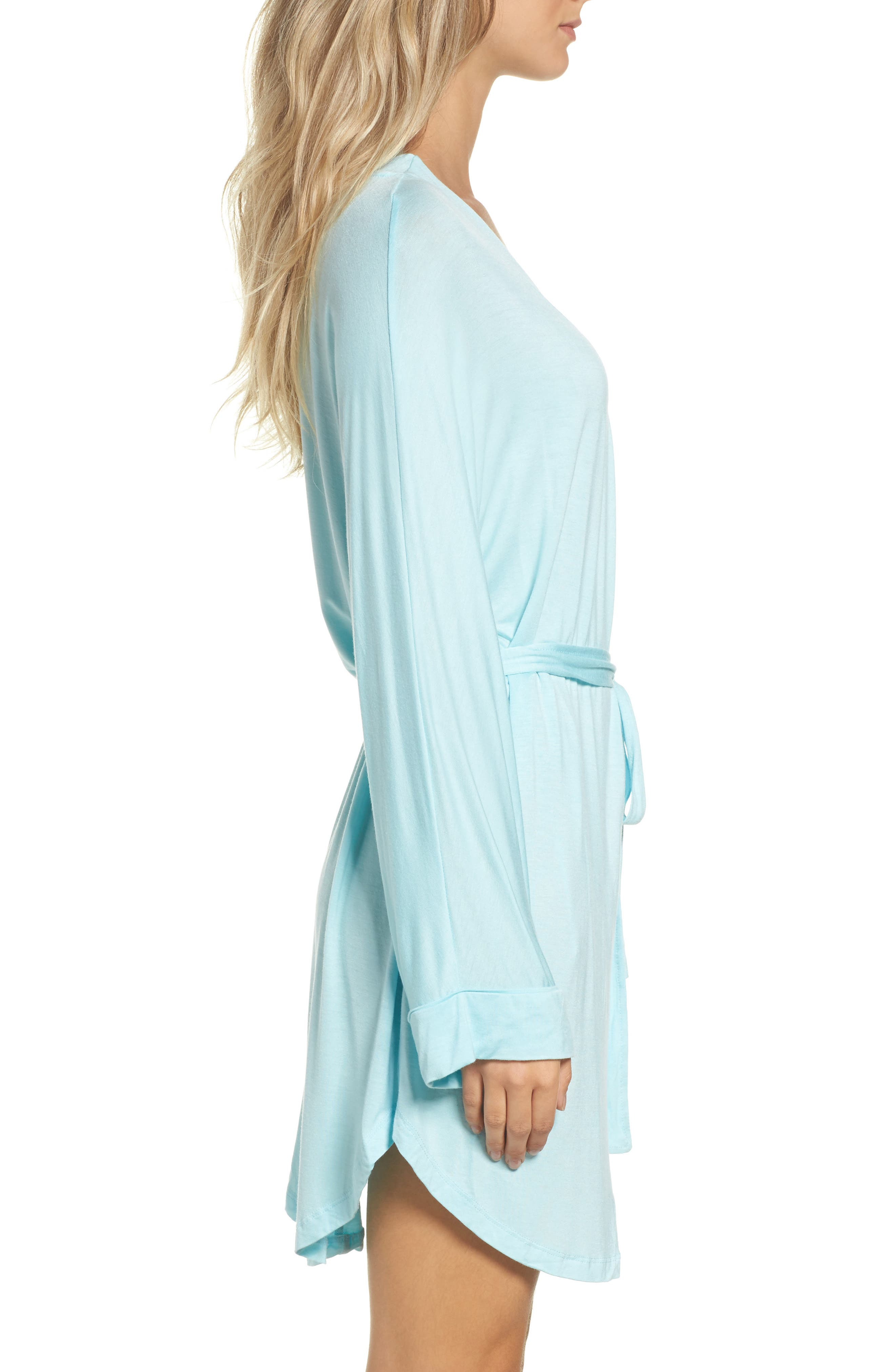 All American Jersey Robe,                             Alternate thumbnail 3, color,                             SOMETHING BLUE
