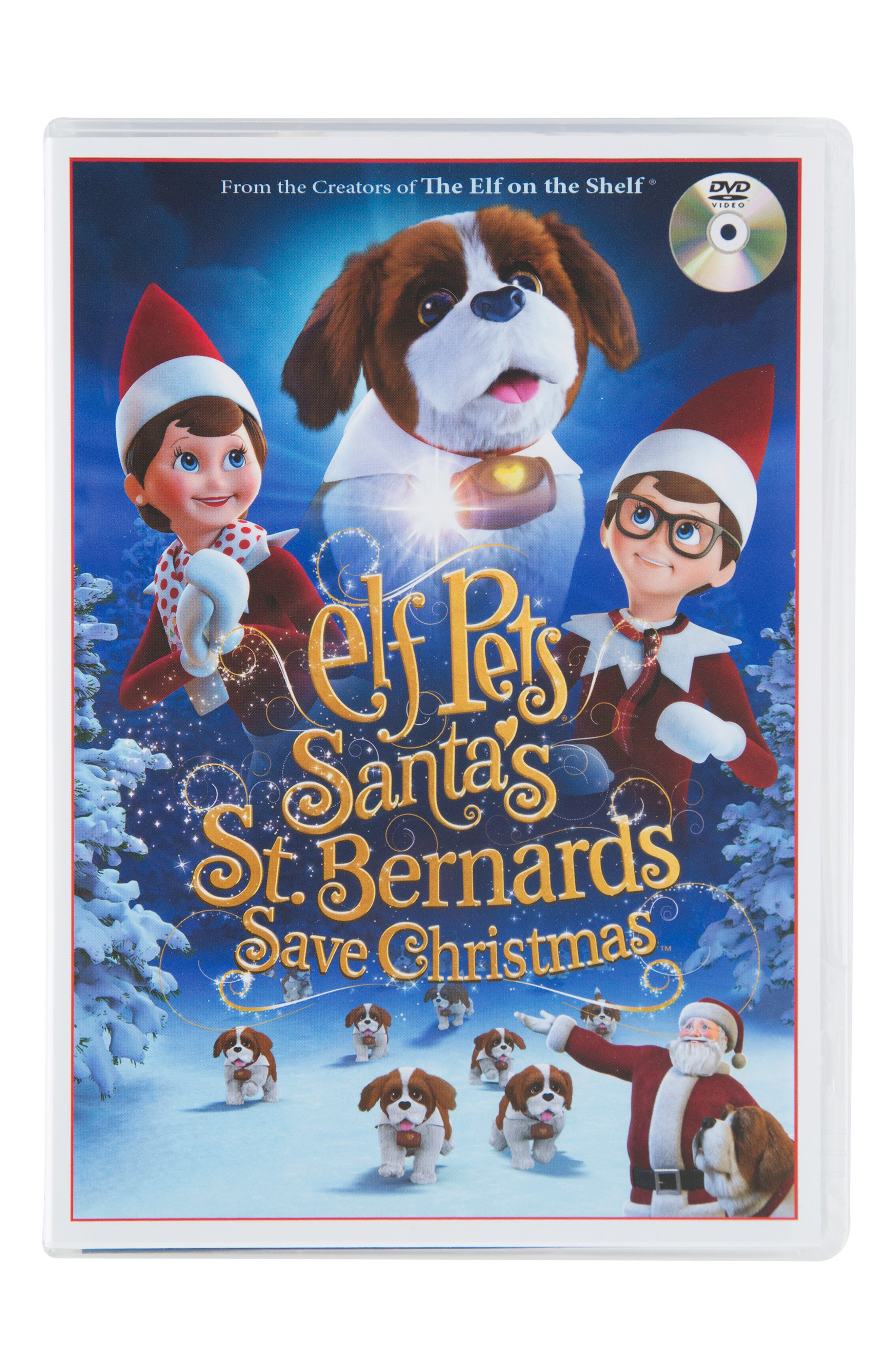 ELF ON THE SHELF,                             'Elf Pets: Santa's St. Bernards Save Christmas' DVD,                             Main thumbnail 1, color,                             960