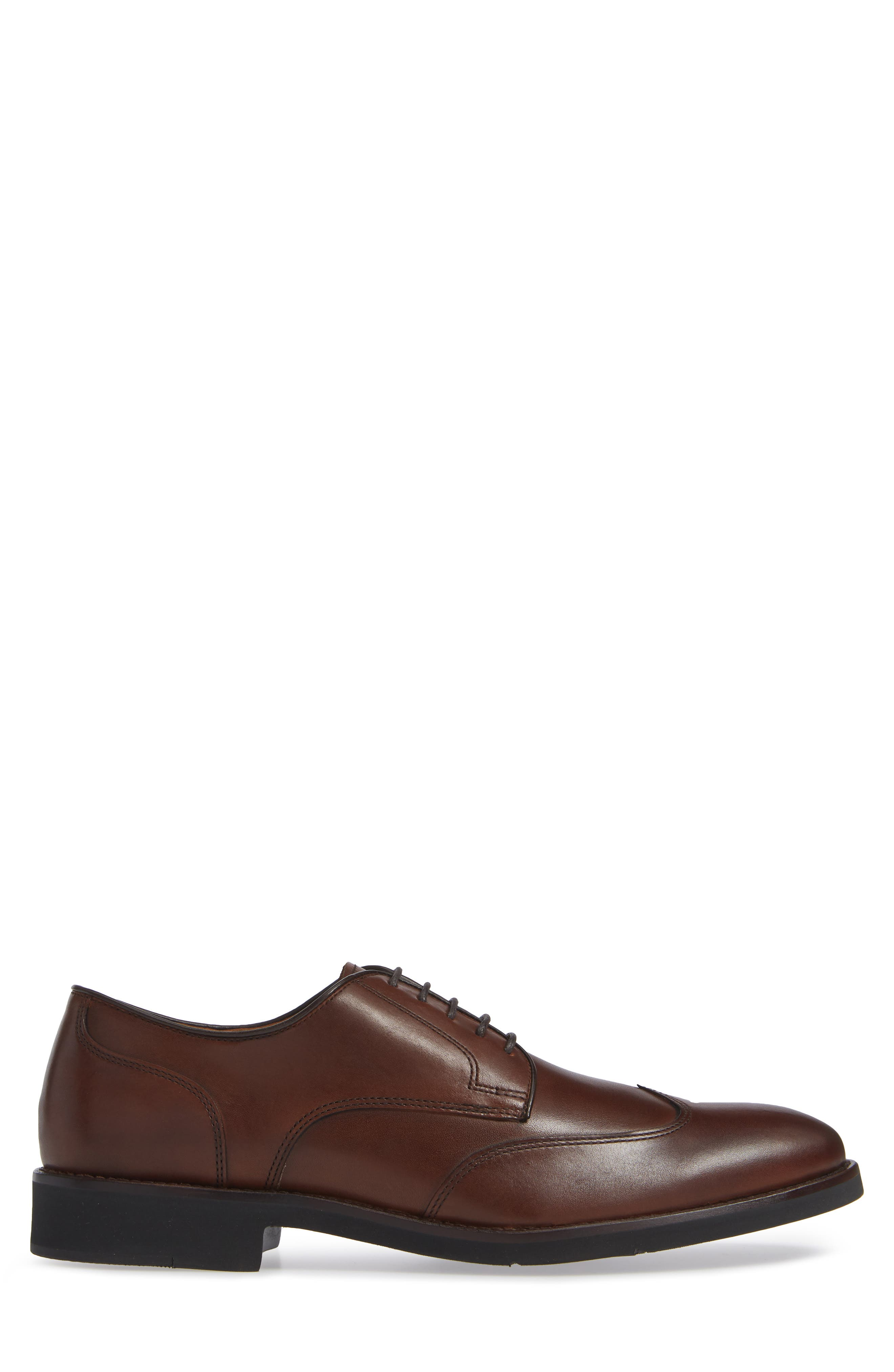 Carlson Wingtip,                             Alternate thumbnail 3, color,                             OAK LEATHER