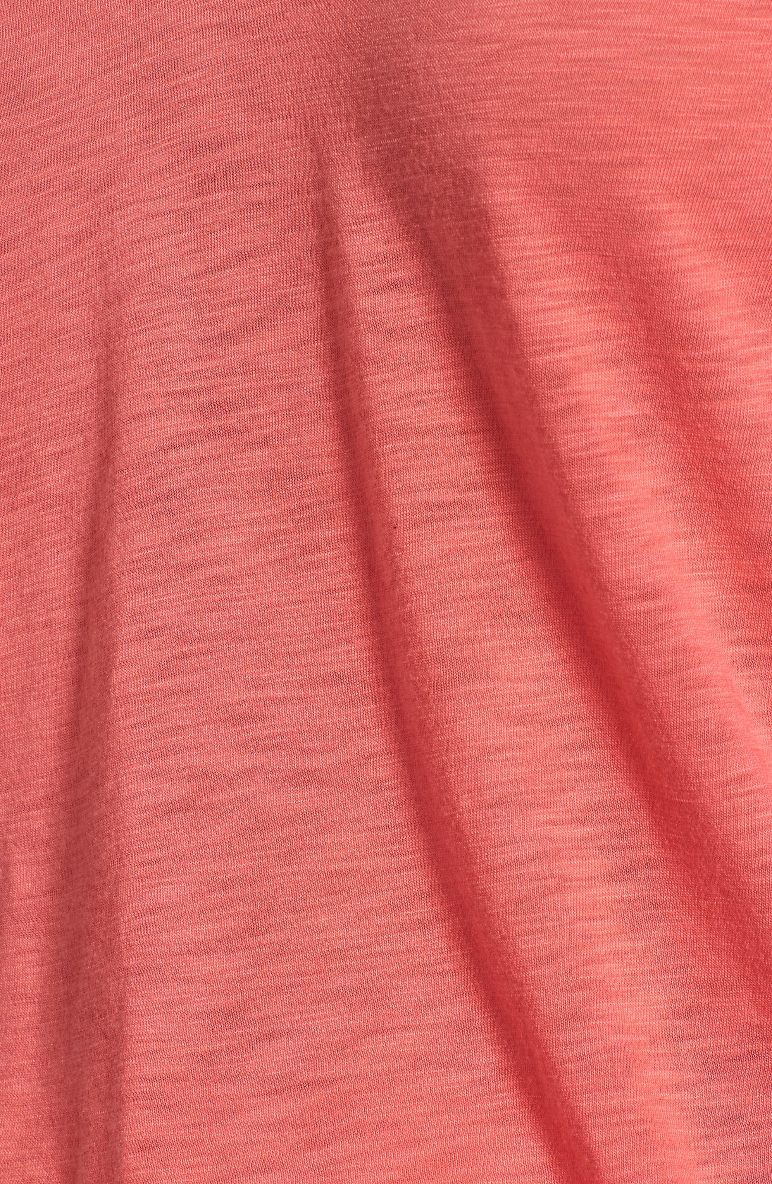 Ruffle Sleeve Tee,                             Alternate thumbnail 20, color,