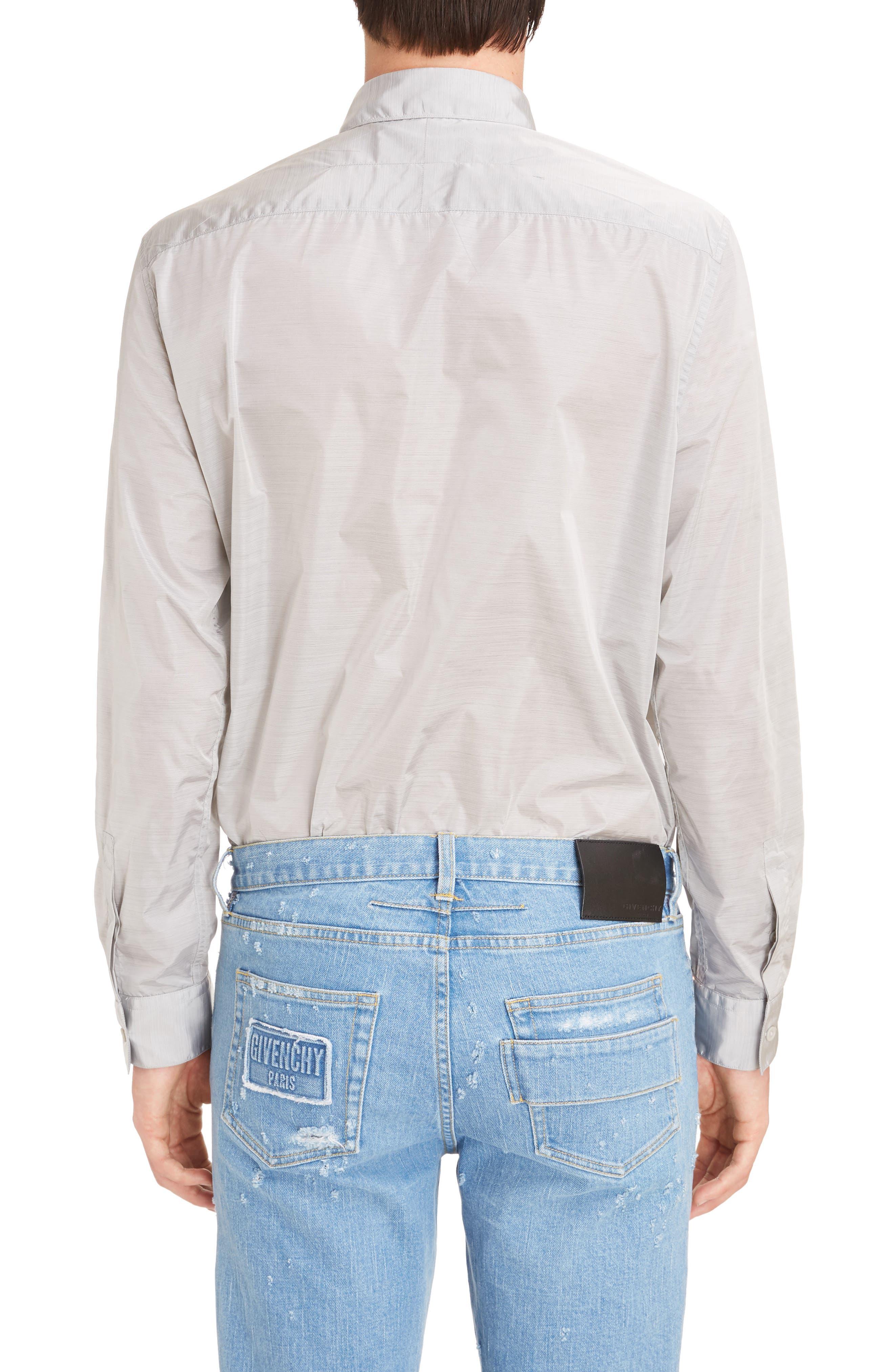 Nylon Woven Shirt,                             Alternate thumbnail 2, color,                             055