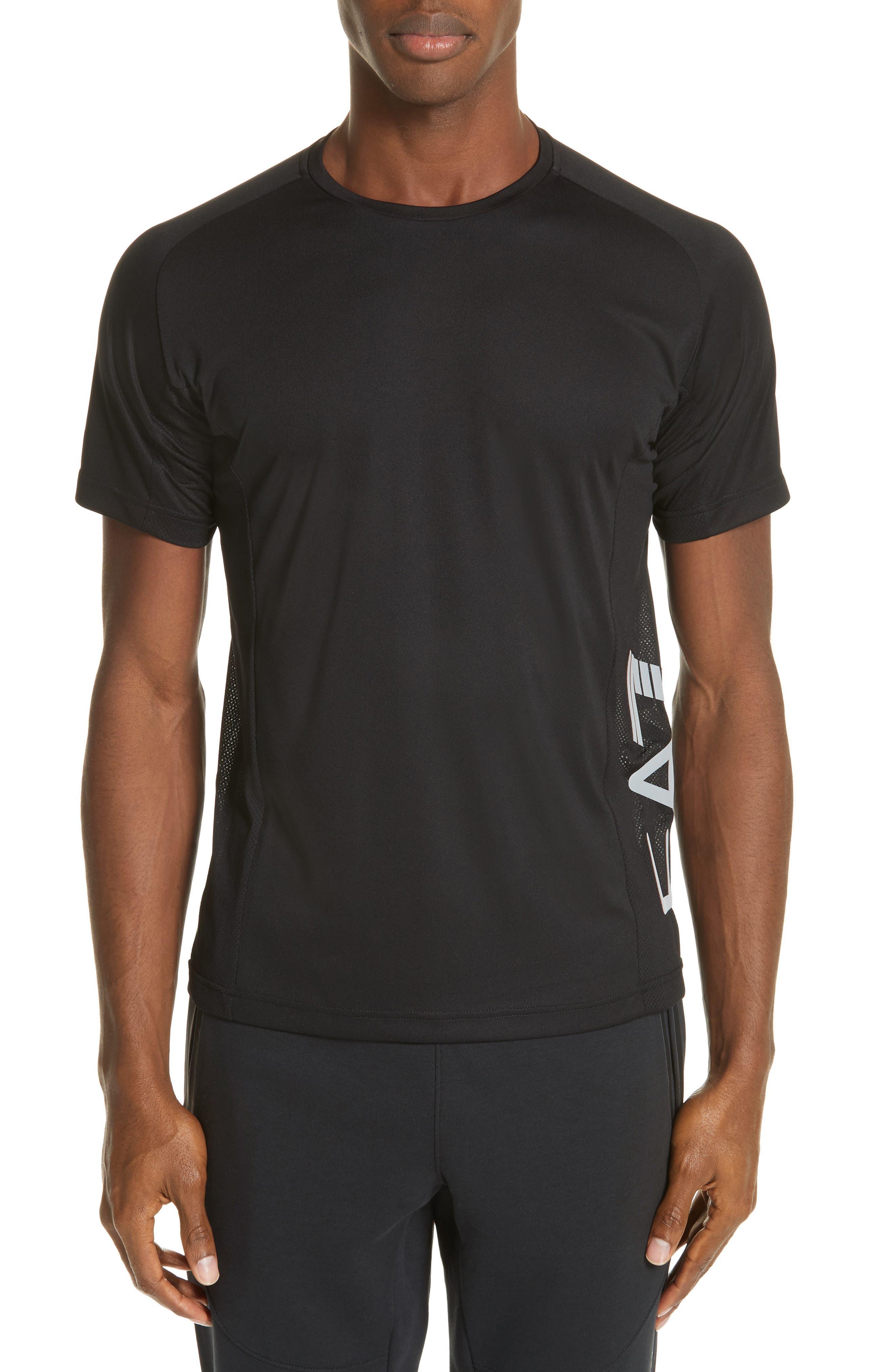 Ventus Crewneck T-Shirt,                         Main,                         color, BLACK