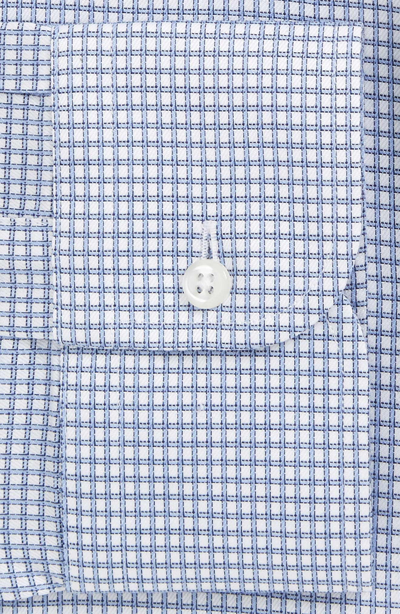 Smartcare<sup>™</sup> Traditional Fit Check Dress Shirt,                             Alternate thumbnail 5, color,