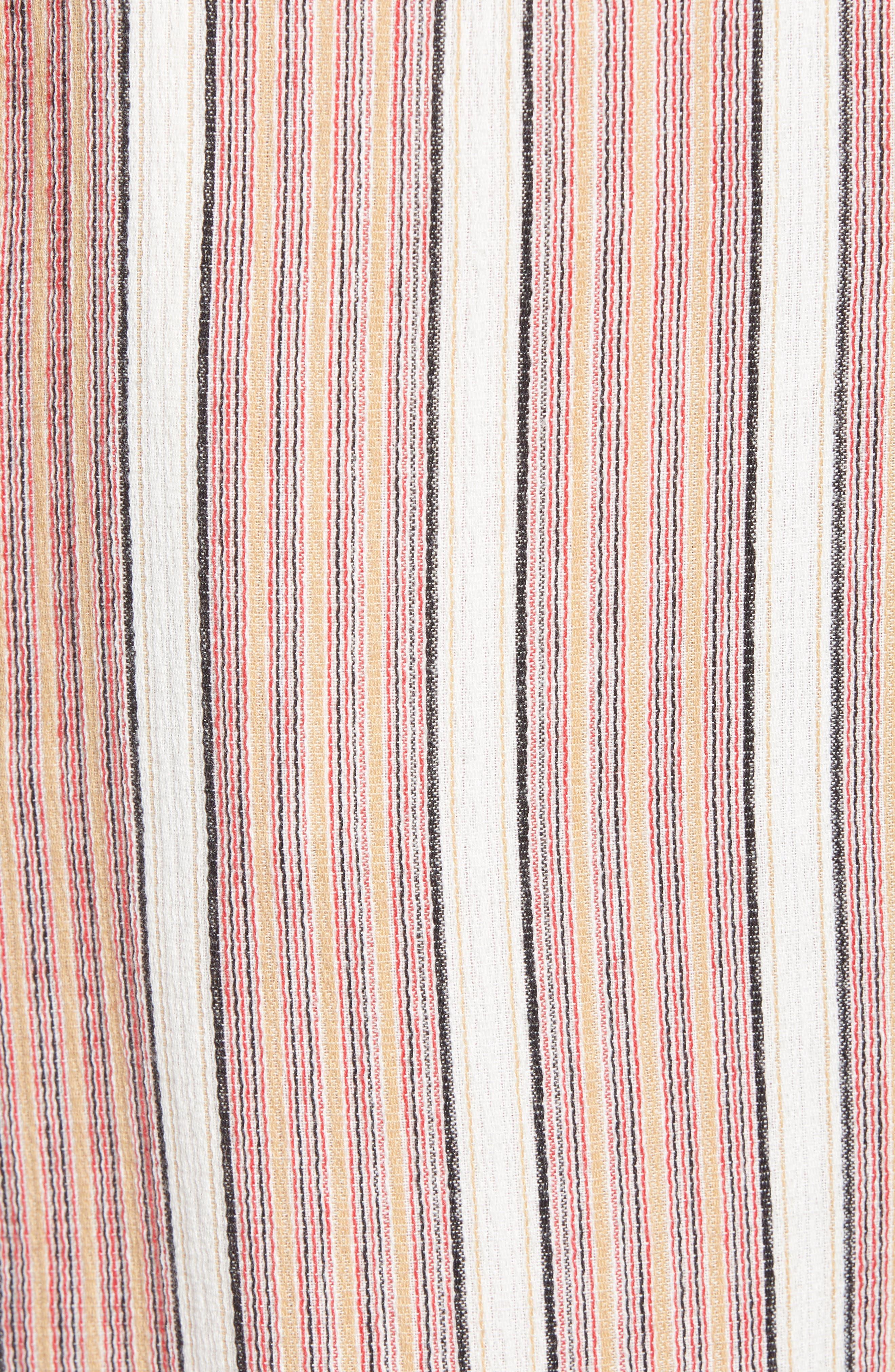 Midnight Avenue Stripe Pants,                             Alternate thumbnail 6, color,                             AMERICAN BEAUTY MULTI STRIPES