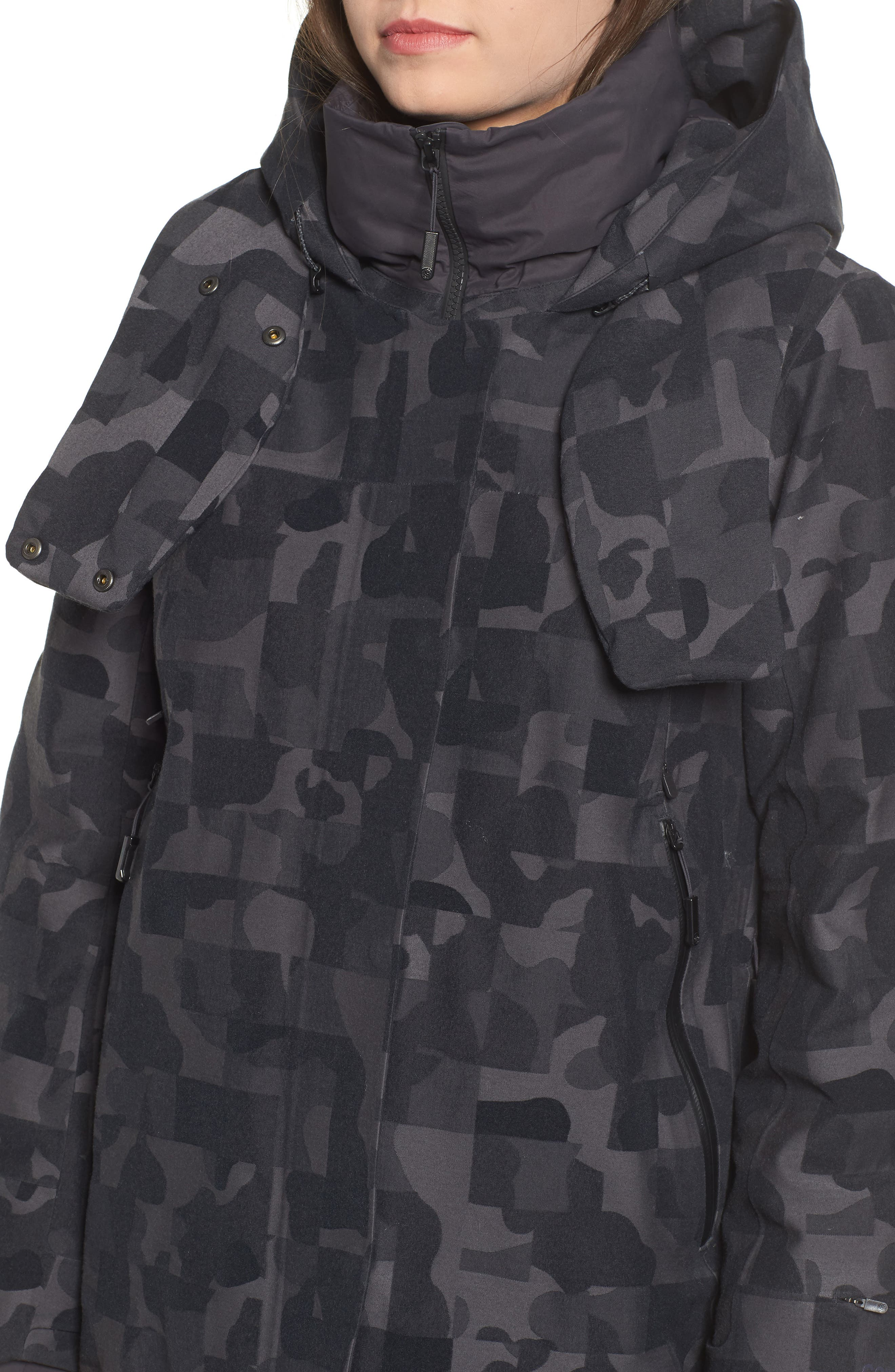 Cryos Expedition 800 Fill Power Down Gore-Tex<sup>®</sup> Parka,                             Alternate thumbnail 4, color,                             001