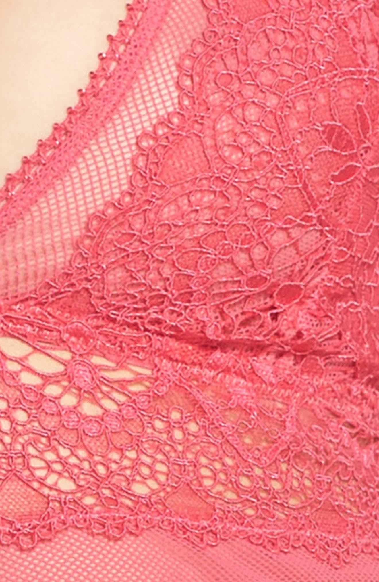 Lace Longline Bralette,                             Alternate thumbnail 20, color,