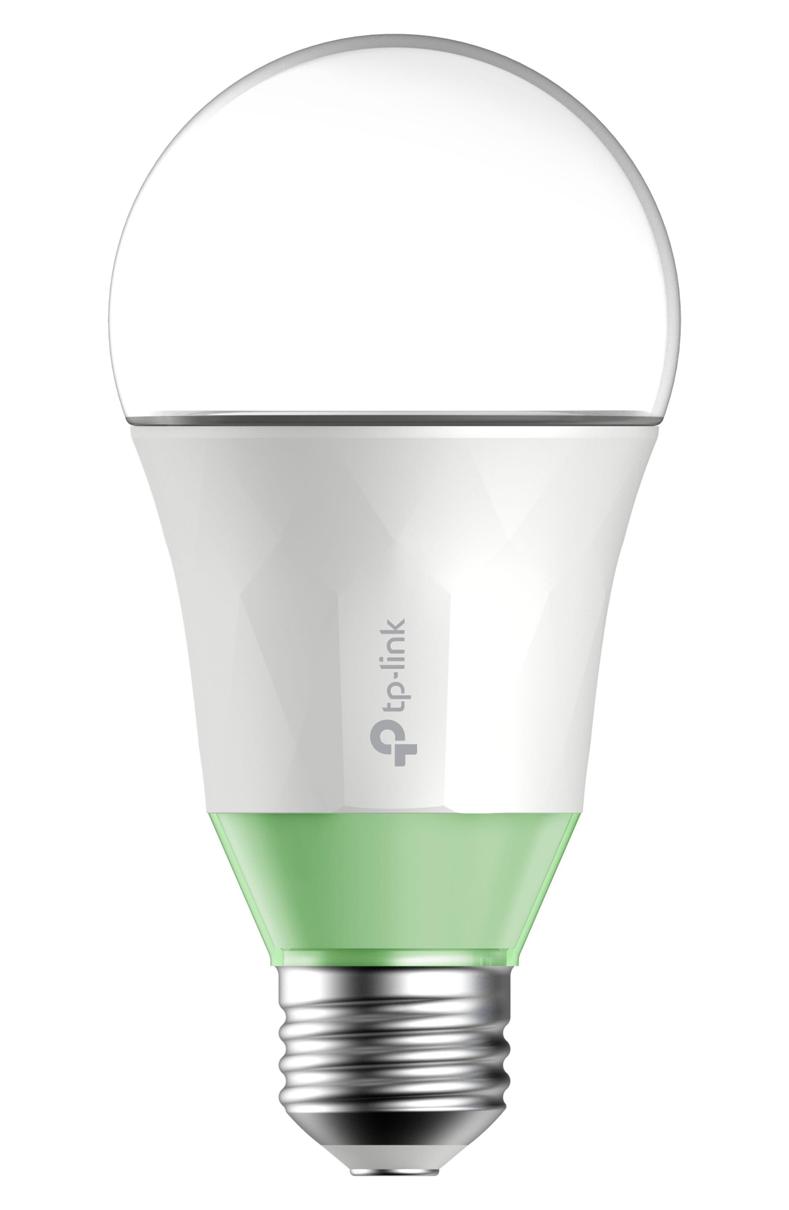 Smart Wi-Fi Dimmable LED Light Bulb,                             Main thumbnail 1, color,