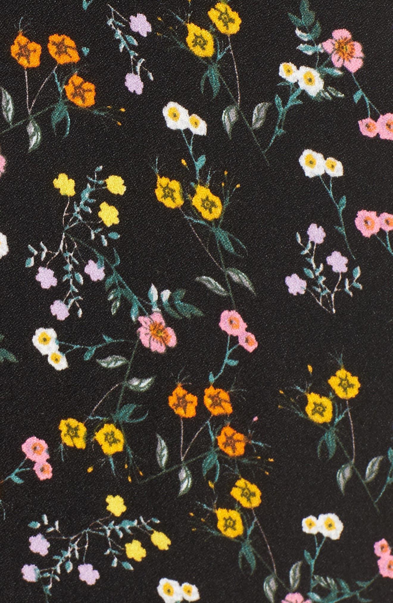 Alya Maxi Dress,                             Alternate thumbnail 6, color,                             001