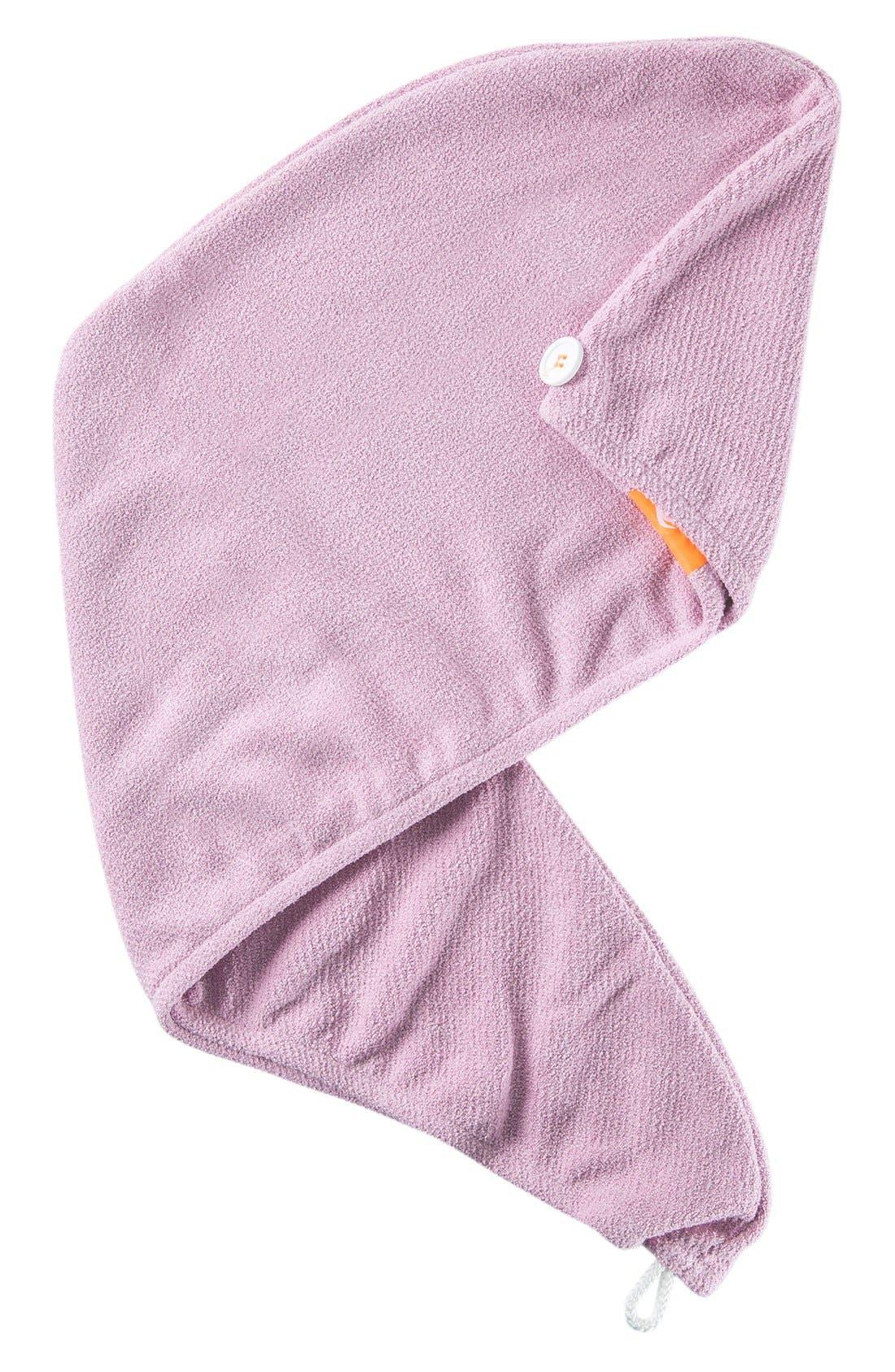 Lisse Luxe Desert Rose Hair Turban,                             Main thumbnail 1, color,                             DESERT ROSE