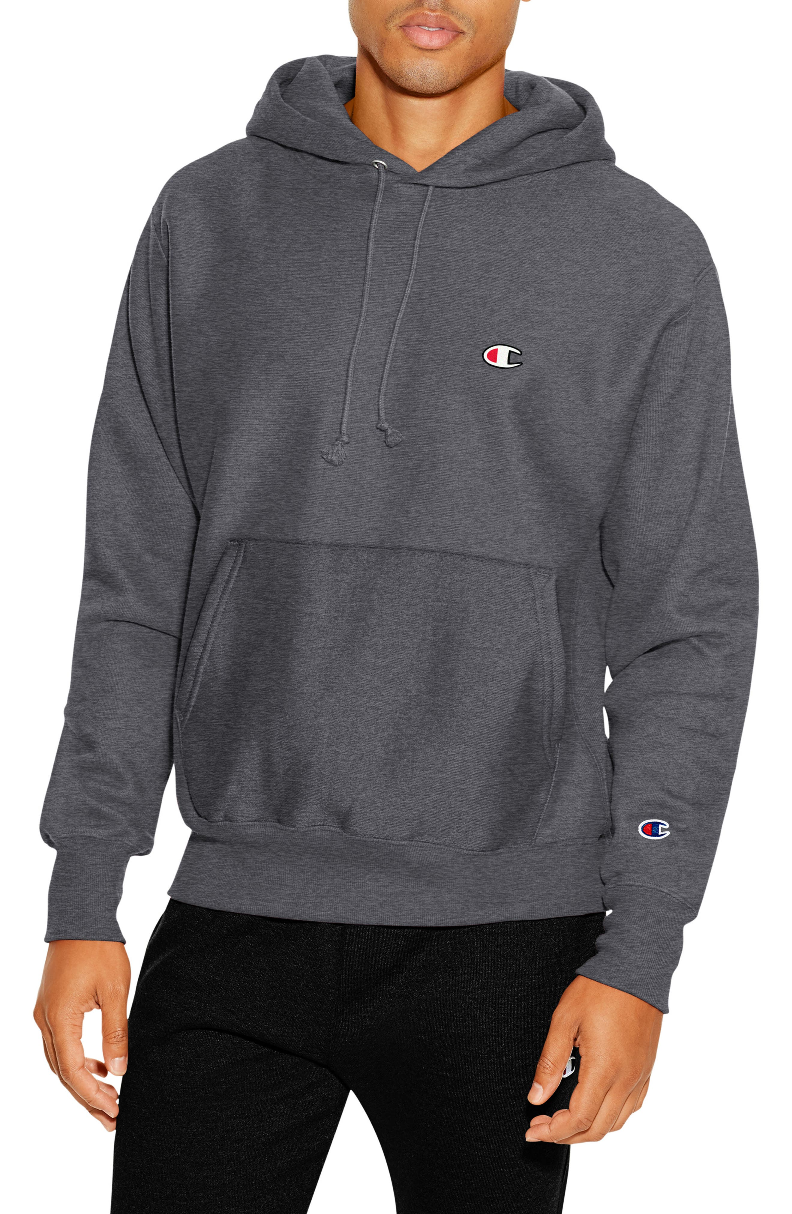 Reverse Weave<sup>®</sup> Pullover Hoodie,                             Main thumbnail 2, color,