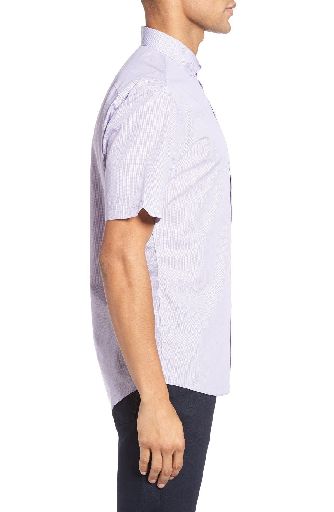 ZACHARY PRELL,                             Friswold Slim Fit Plaid Sport Shirt,                             Alternate thumbnail 5, color,                             500
