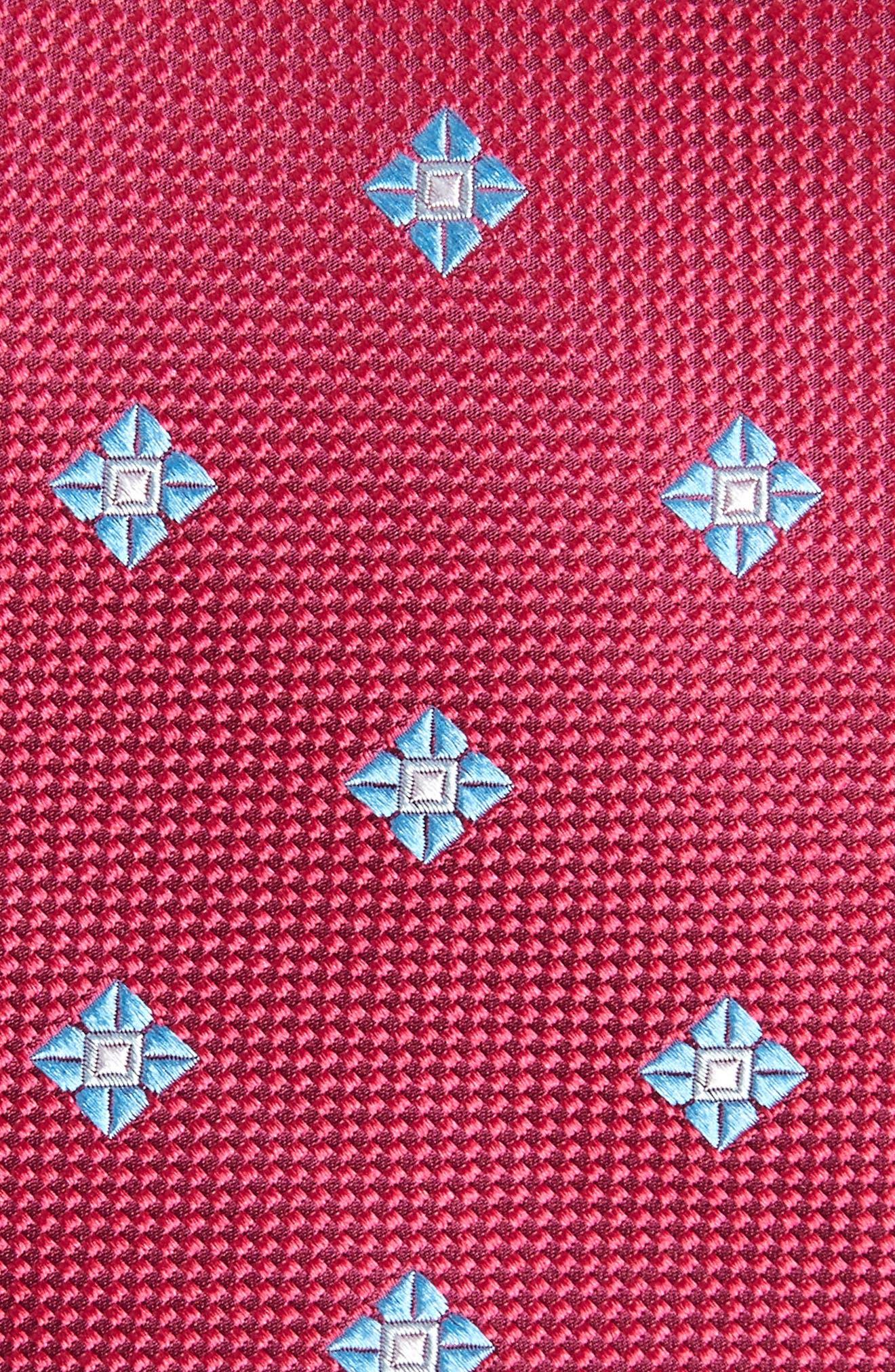 Oxford Medallion Silk Tie,                             Alternate thumbnail 11, color,