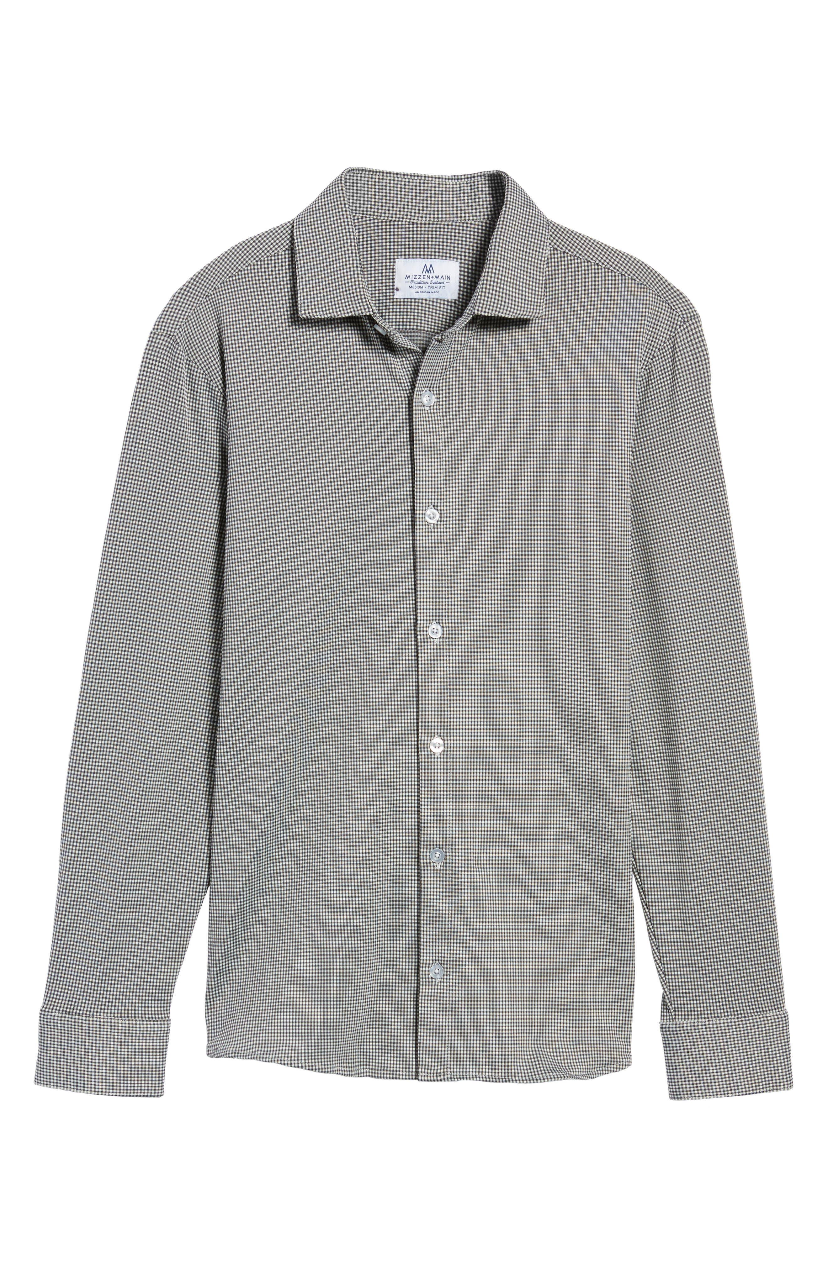 Davenport Gingham Sport Shirt,                             Alternate thumbnail 12, color,