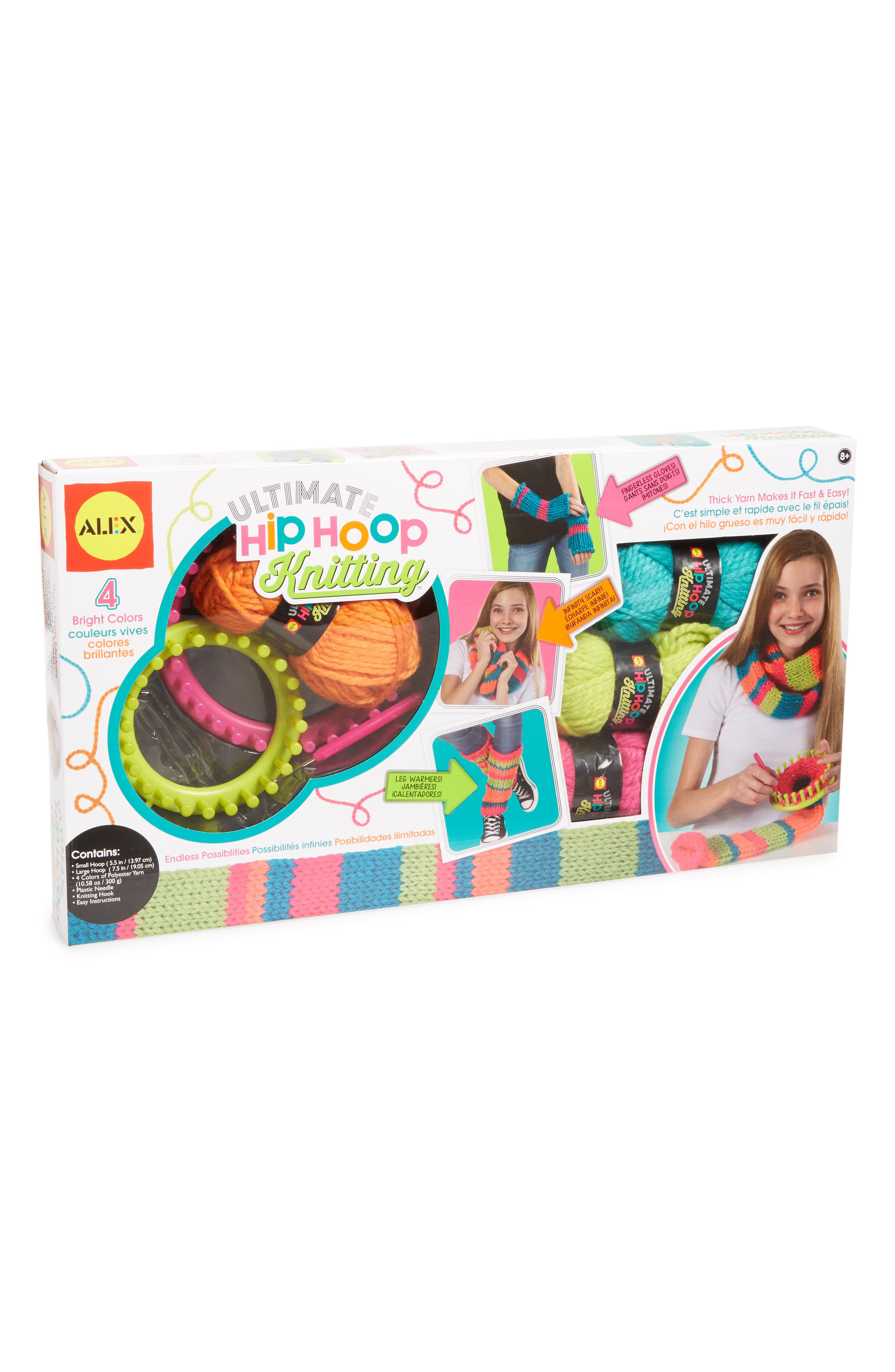 ALEX<SUP>®</SUP> TOYS Ultimate Hip Hoop Knitting Craft Kit, Main, color, 650