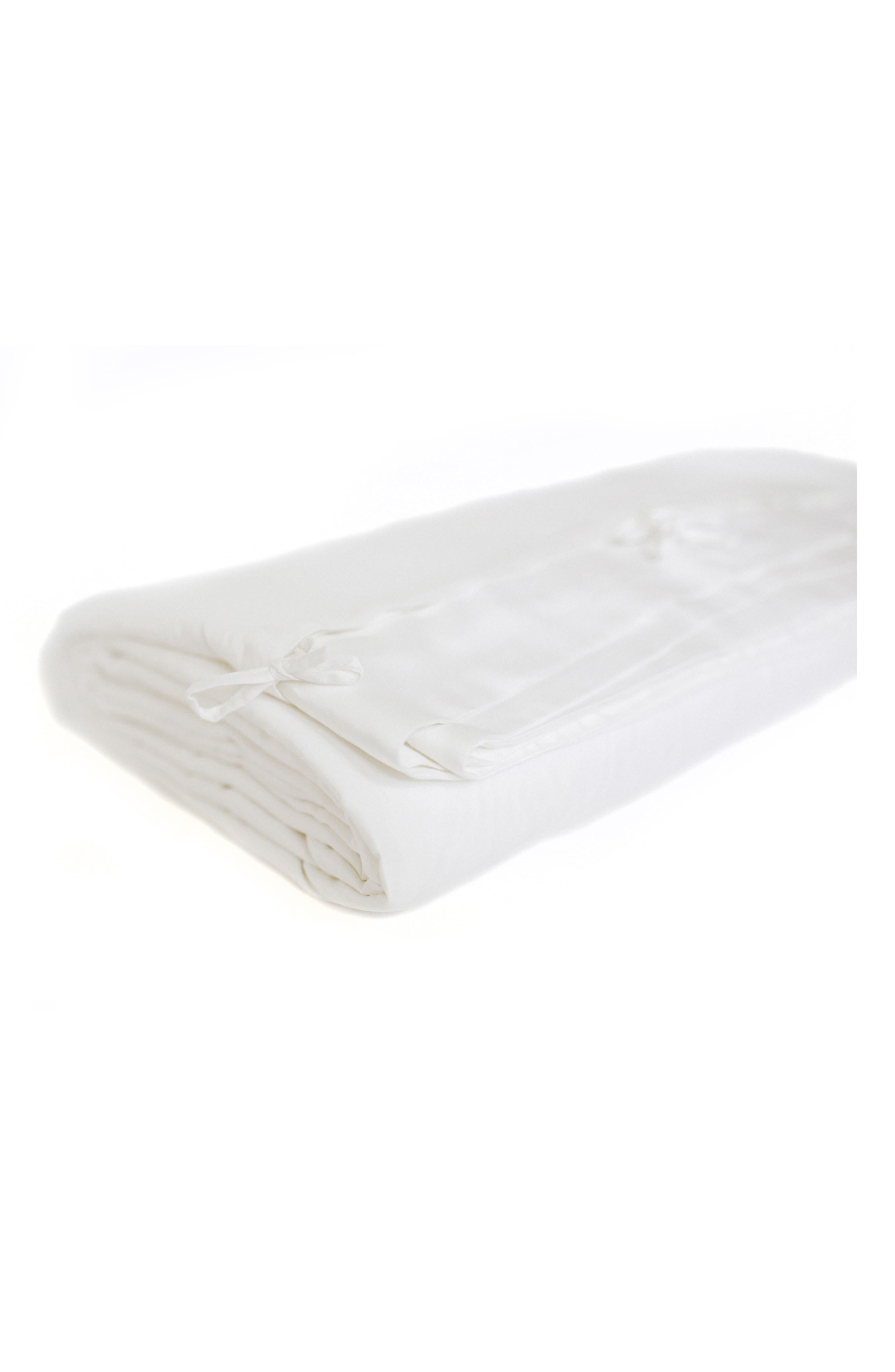 Duvet Cover,                         Main,                         color, WHITE