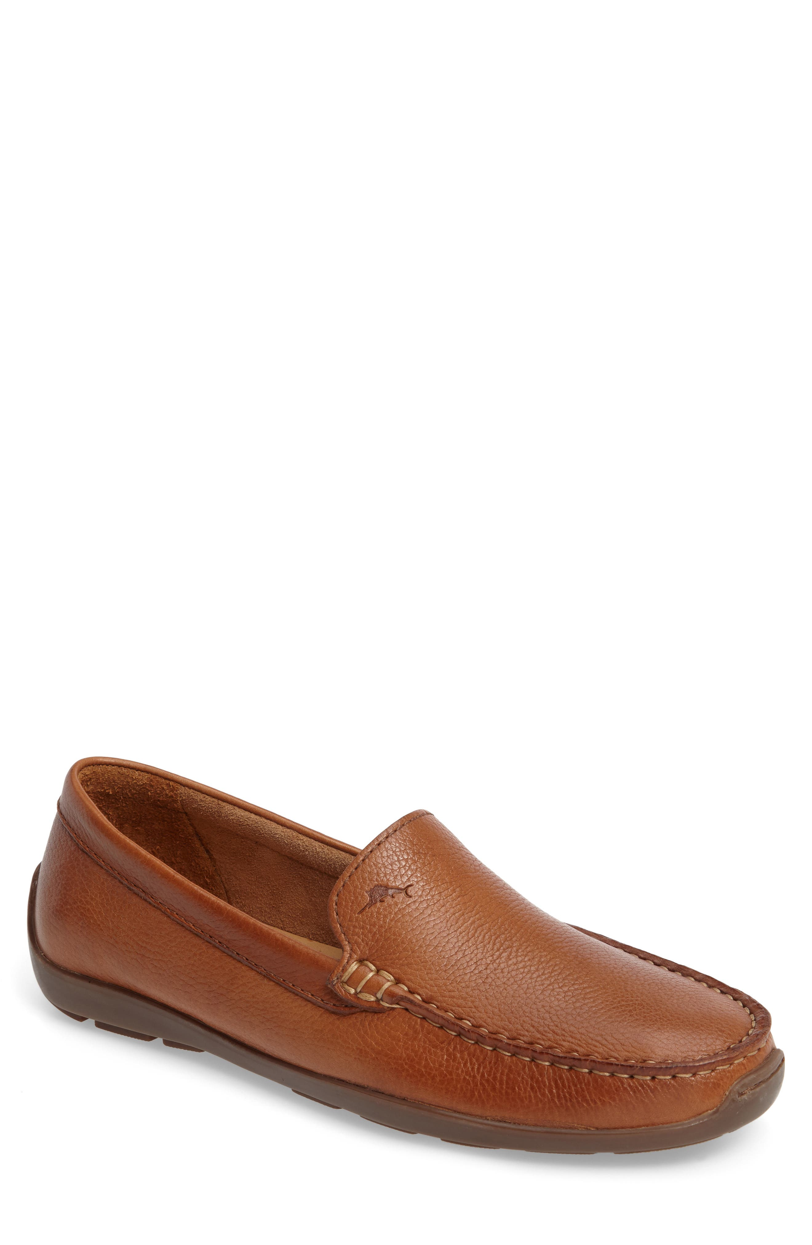Orion Venetian Loafer,                         Main,                         color, TAN LEATHER