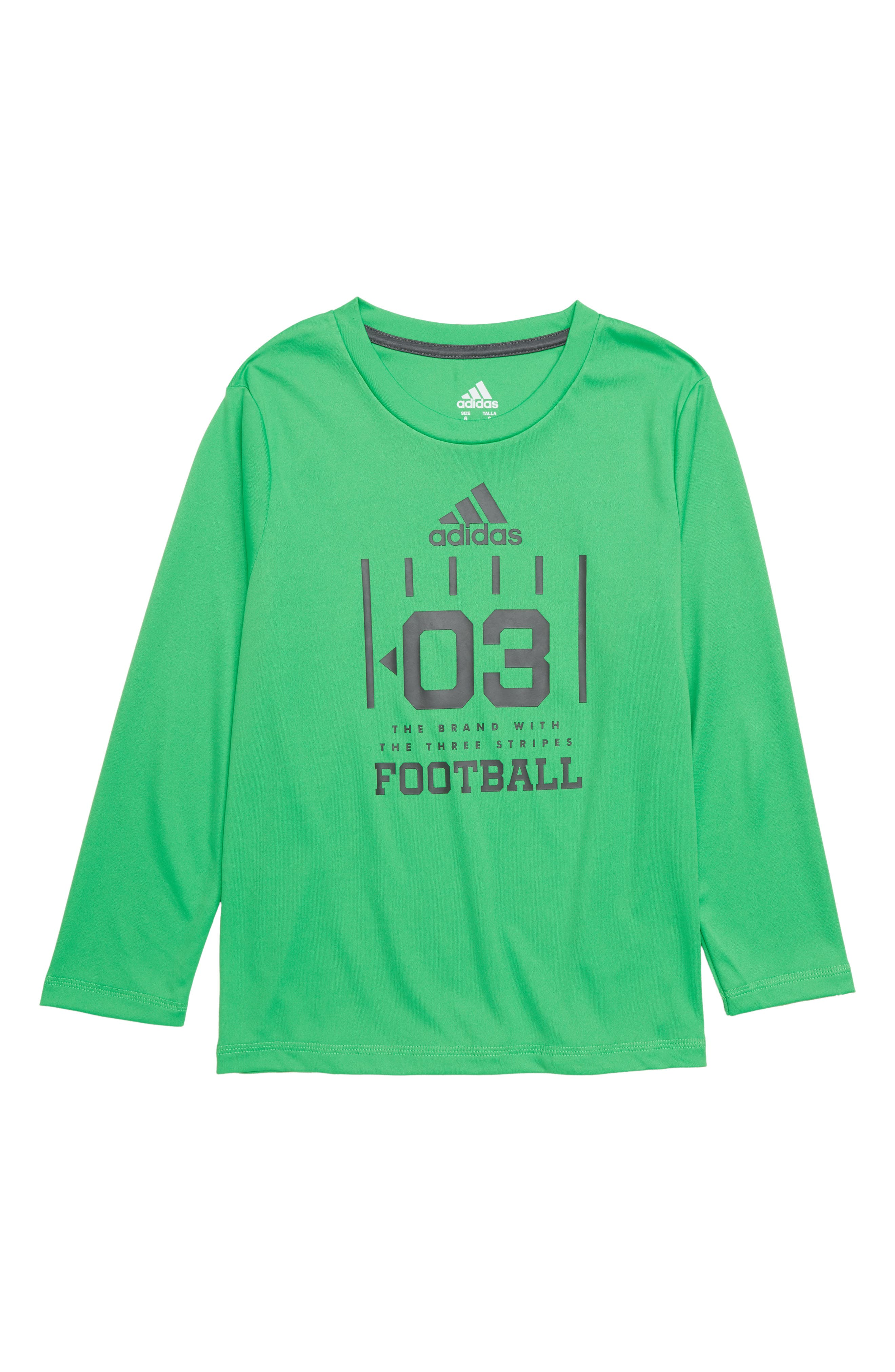 Game T-Shirt,                             Main thumbnail 1, color,                             BRIGHT GREEN