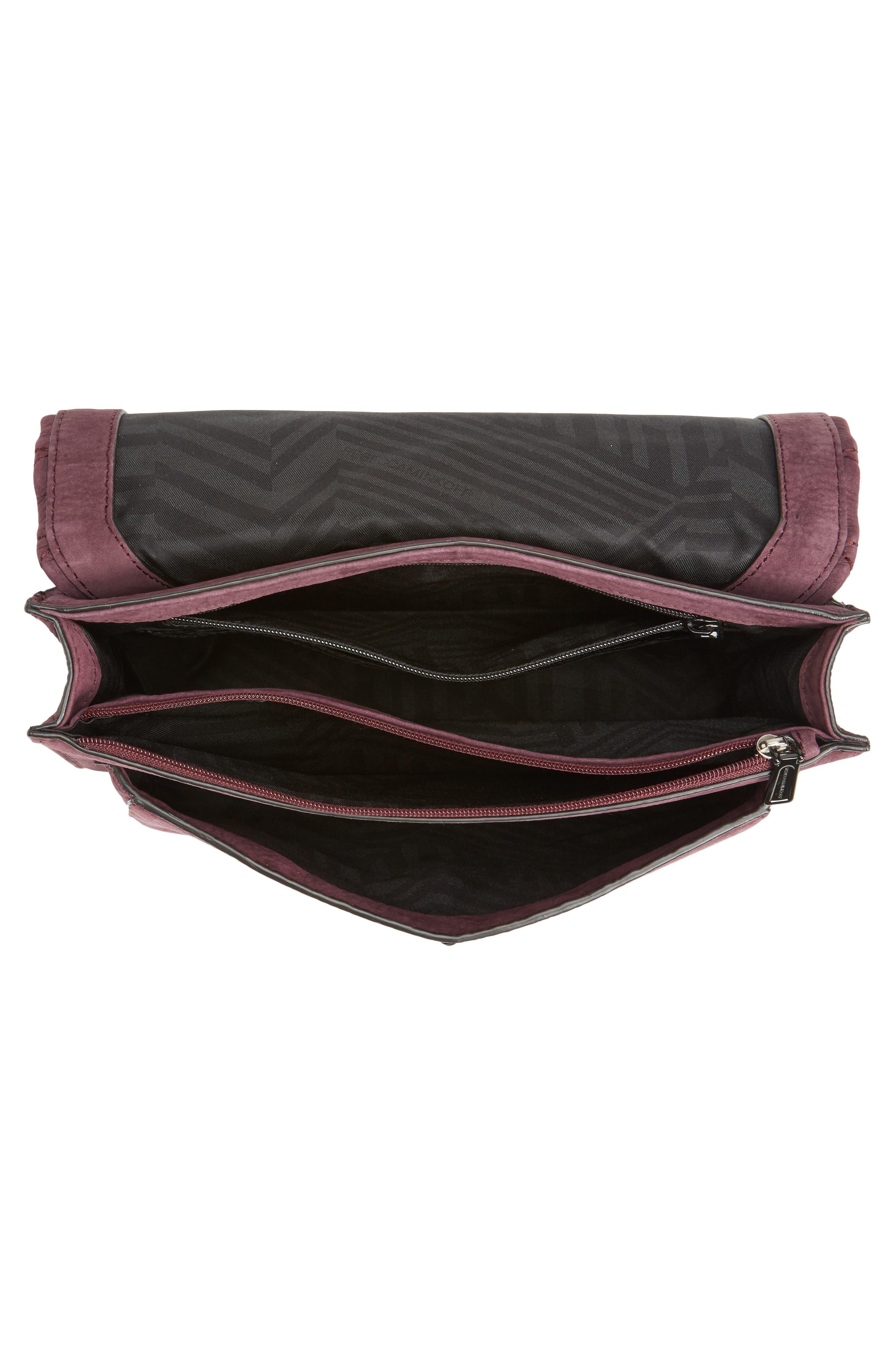 Medium Je T'aime Convertible Leather Crossbody Bag,                             Alternate thumbnail 36, color,