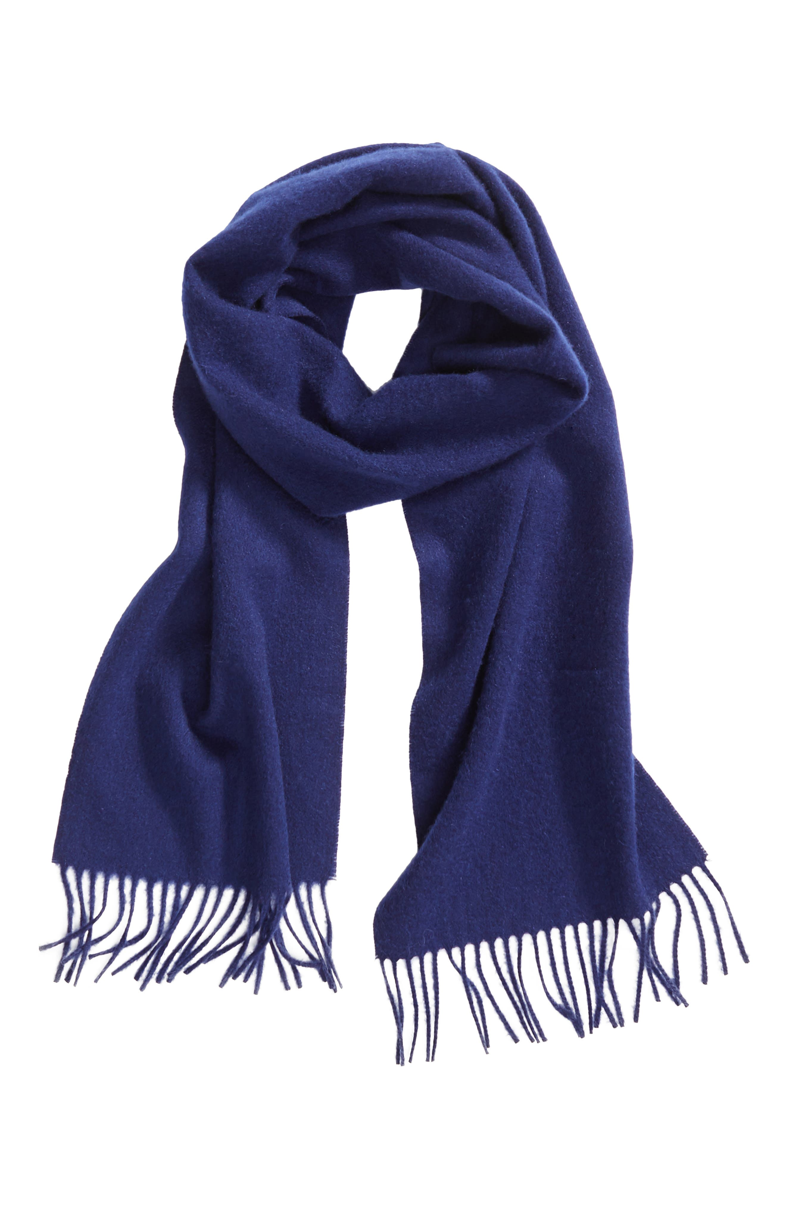Solid Woven Cashmere Scarf,                             Alternate thumbnail 27, color,