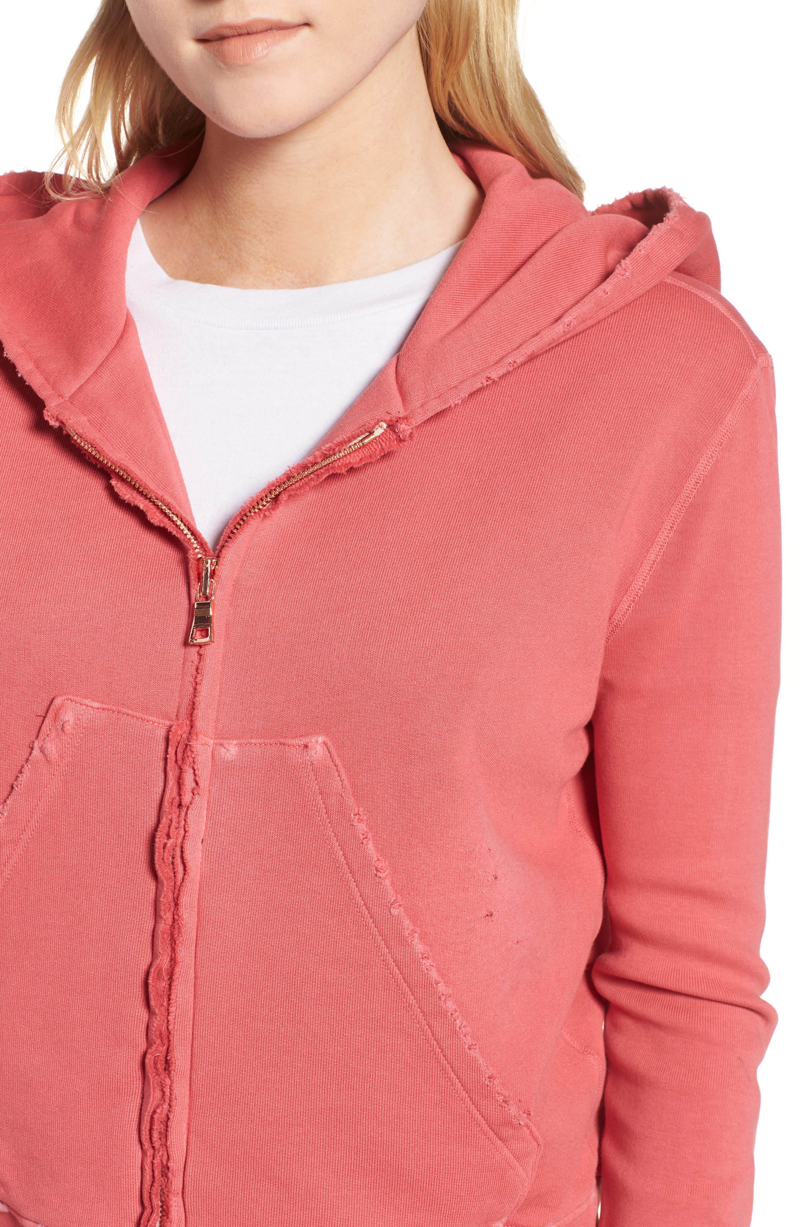 Zip Hoodie,                             Alternate thumbnail 4, color,