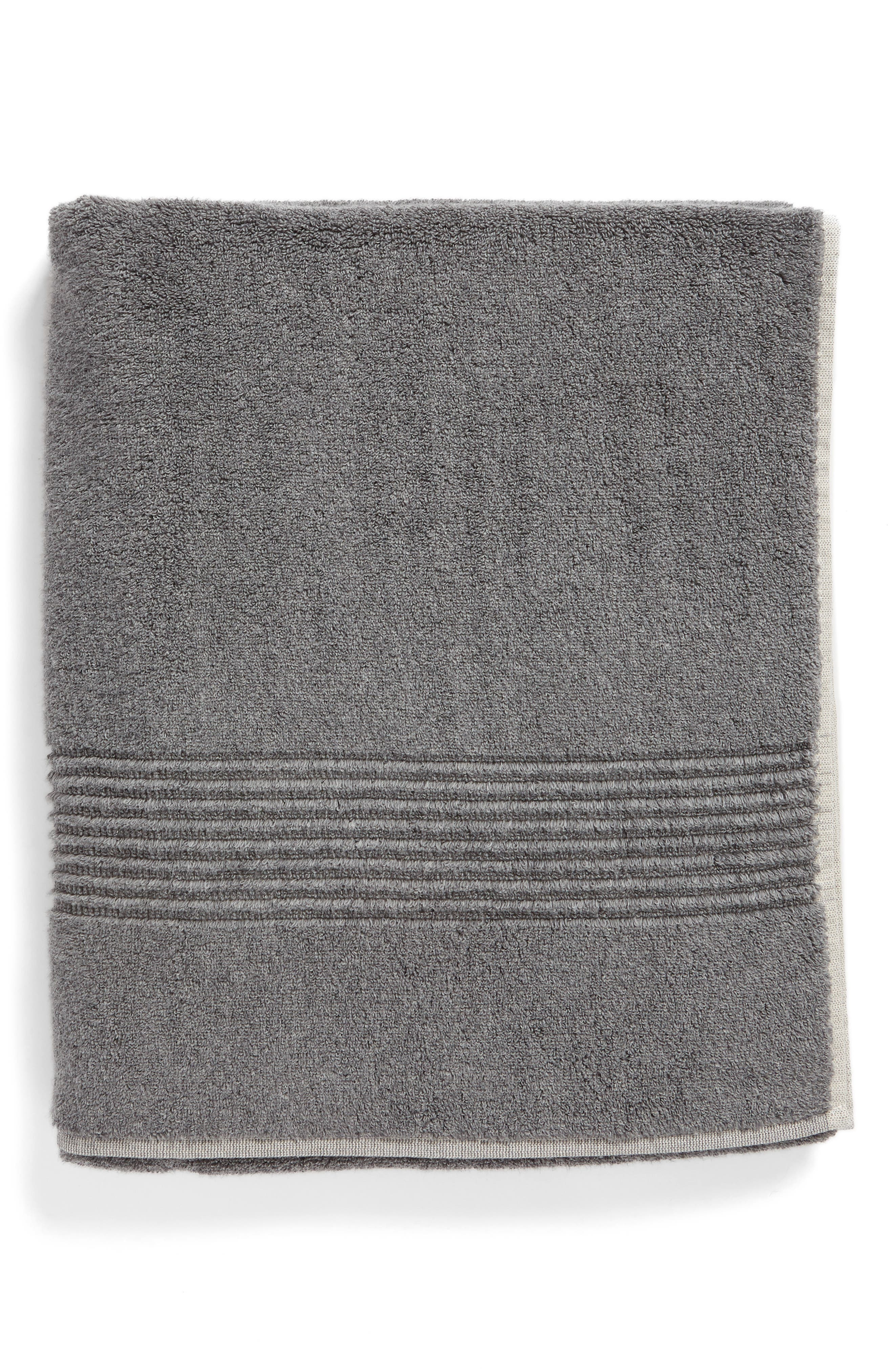 Organic Hydrocotton Bath Towel,                             Main thumbnail 1, color,                             GREY PEARL